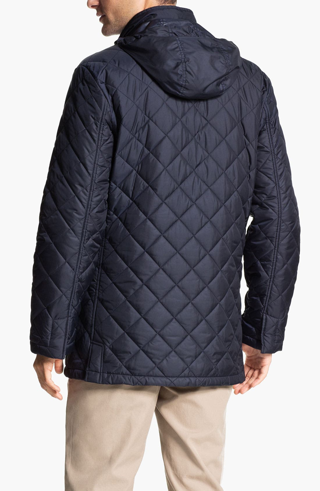 Alternate Image 2  - Brooks Brothers Quilted Walking Jacket