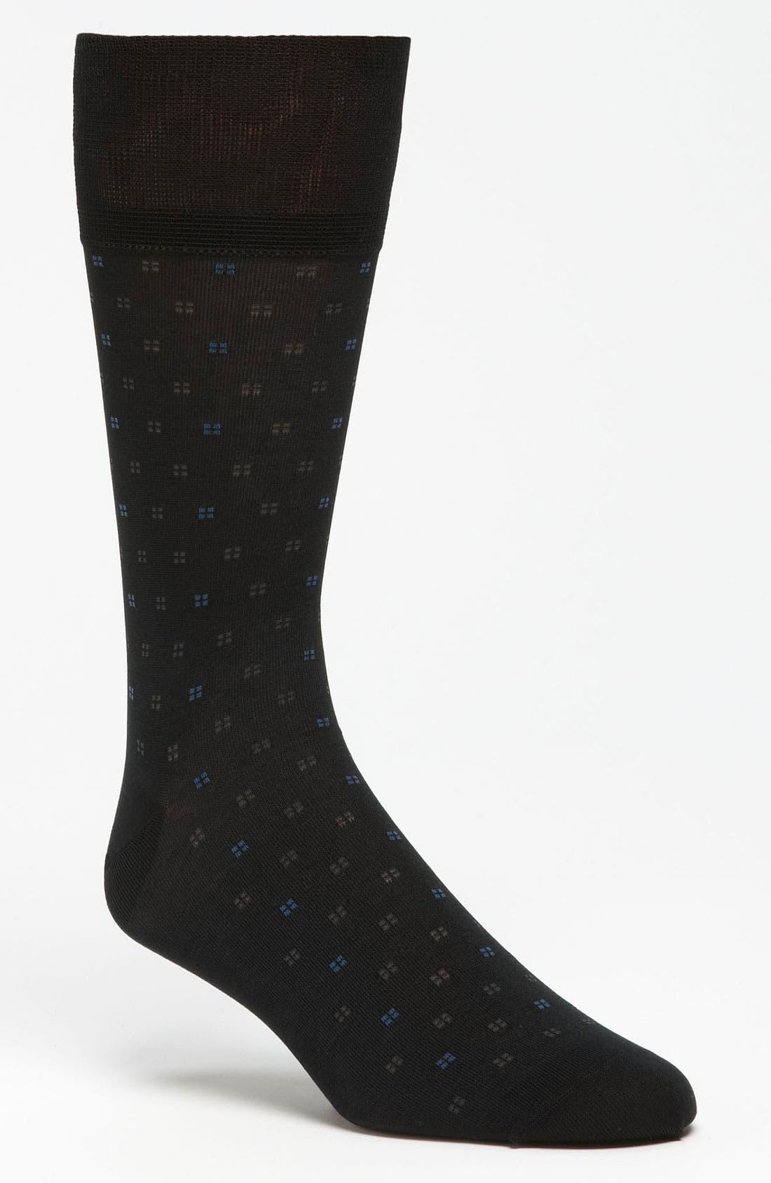 Alternate Image 1 Selected - John W. Nordstrom® Square Dot Socks