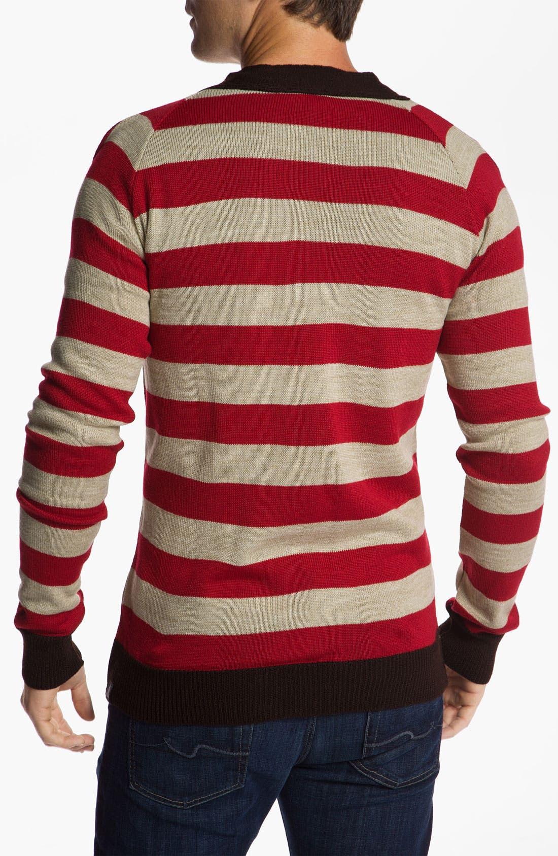 Alternate Image 2  - Vanguard 'Norbert' Stripe Cardigan
