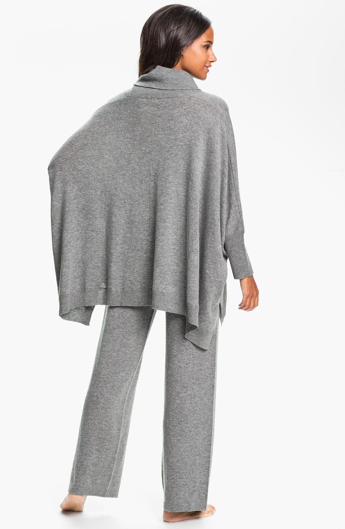 Alternate Image 5  - Donna Karan 'Cozy' Sweater Knit Poncho