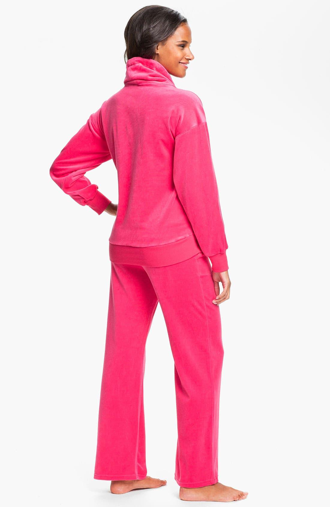 Alternate Image 5  - Josie 'Sacha' Velour Pants