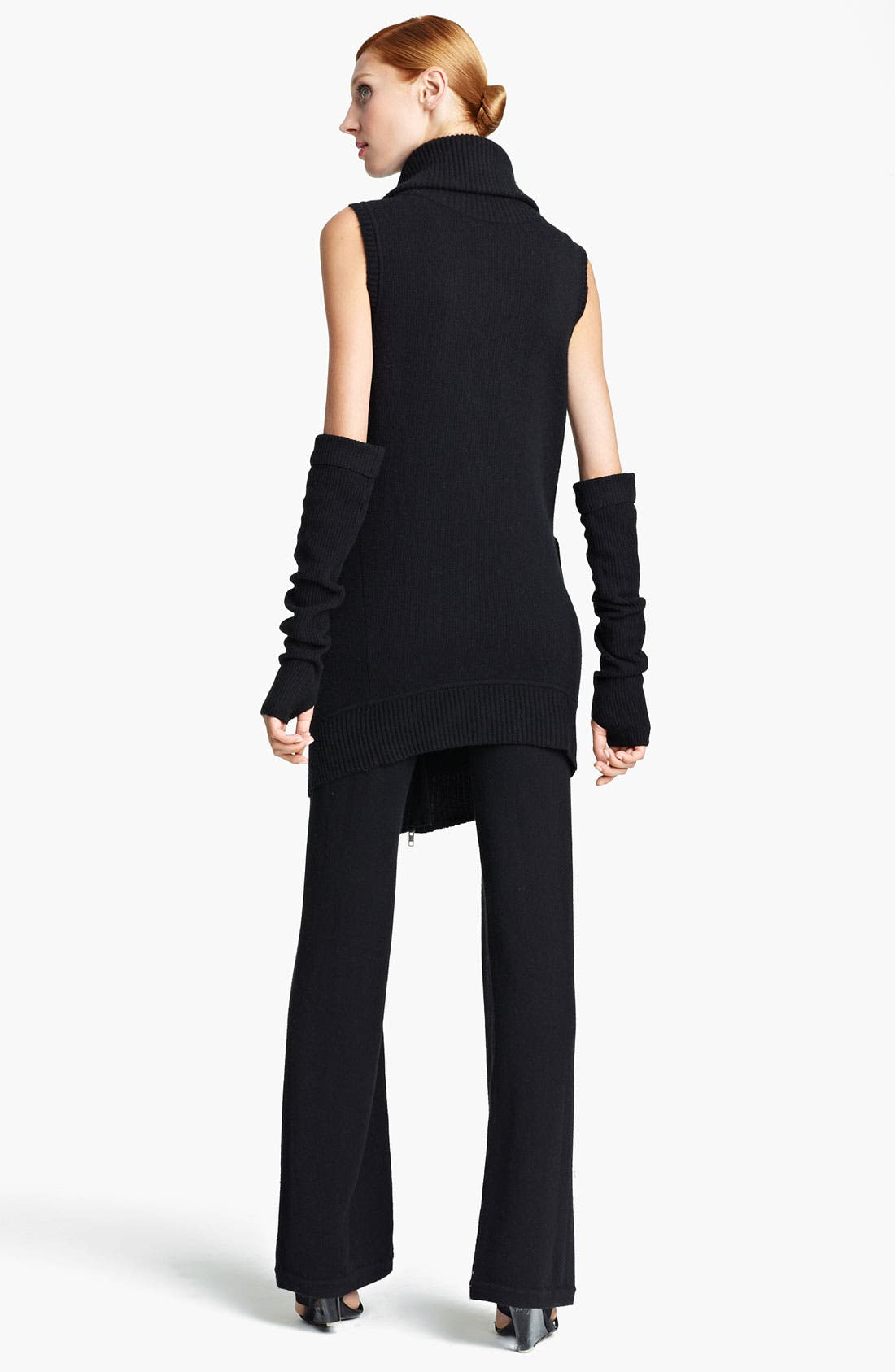 Alternate Image 2  - Donna Karan Collection 'Mid Layer' Ribbed Cashmere Arm Warmers