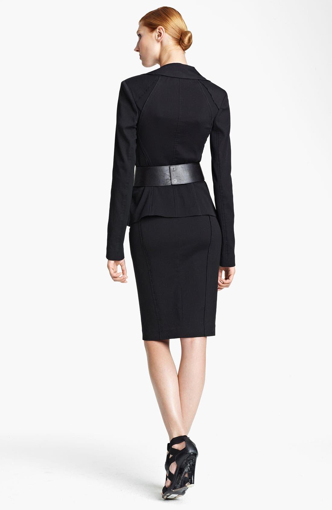 Alternate Image 3  - Donna Karan Collection Seamed Pencil Skirt