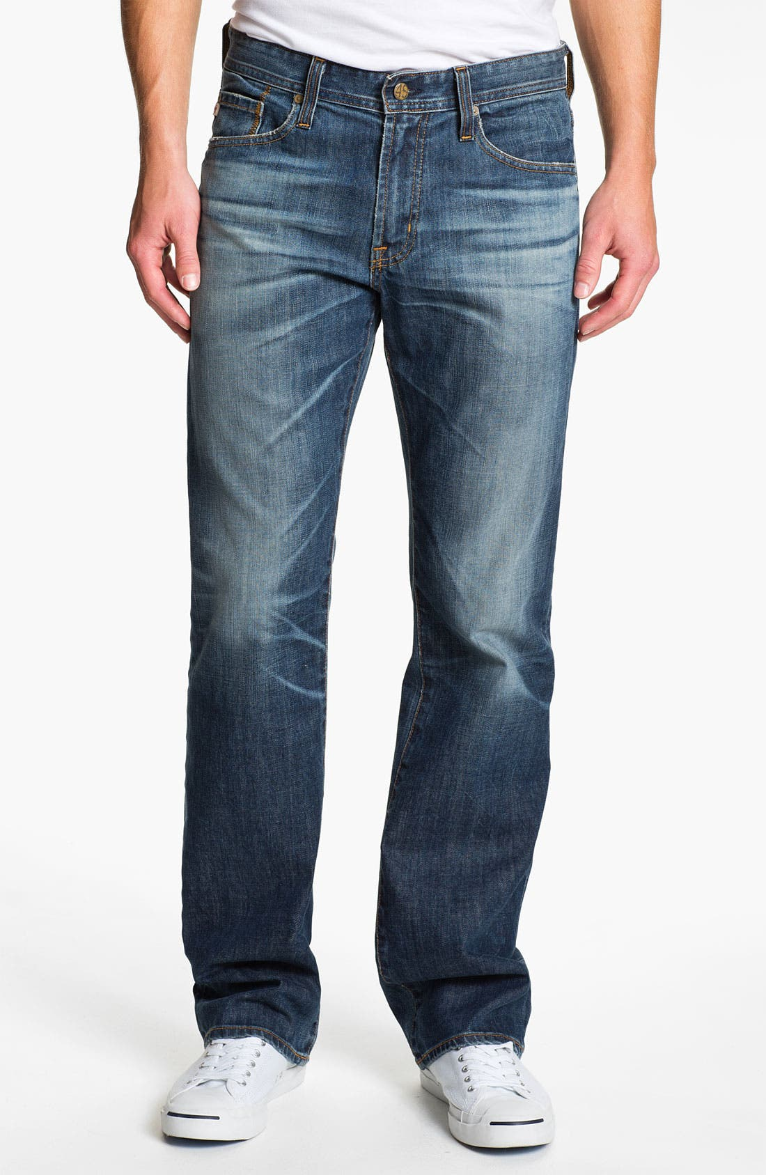 Alternate Image 1 Selected - AG Jeans 'Protégé' Straight Leg Jeans (Eleven Year)