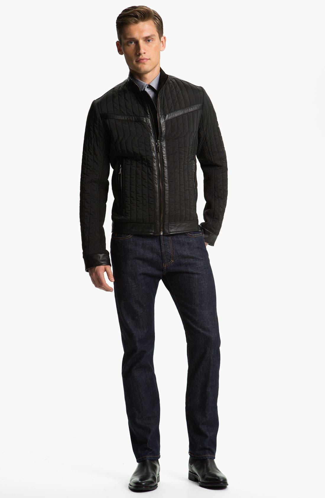Alternate Image 4  - Versace Quilted Jacket