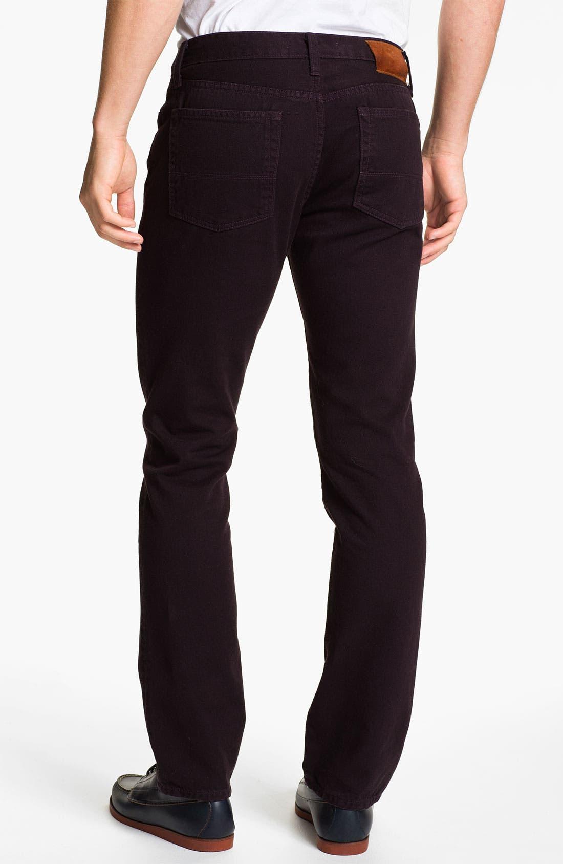 Alternate Image 1 Selected - Vince Slim Straight Leg Twill Pants