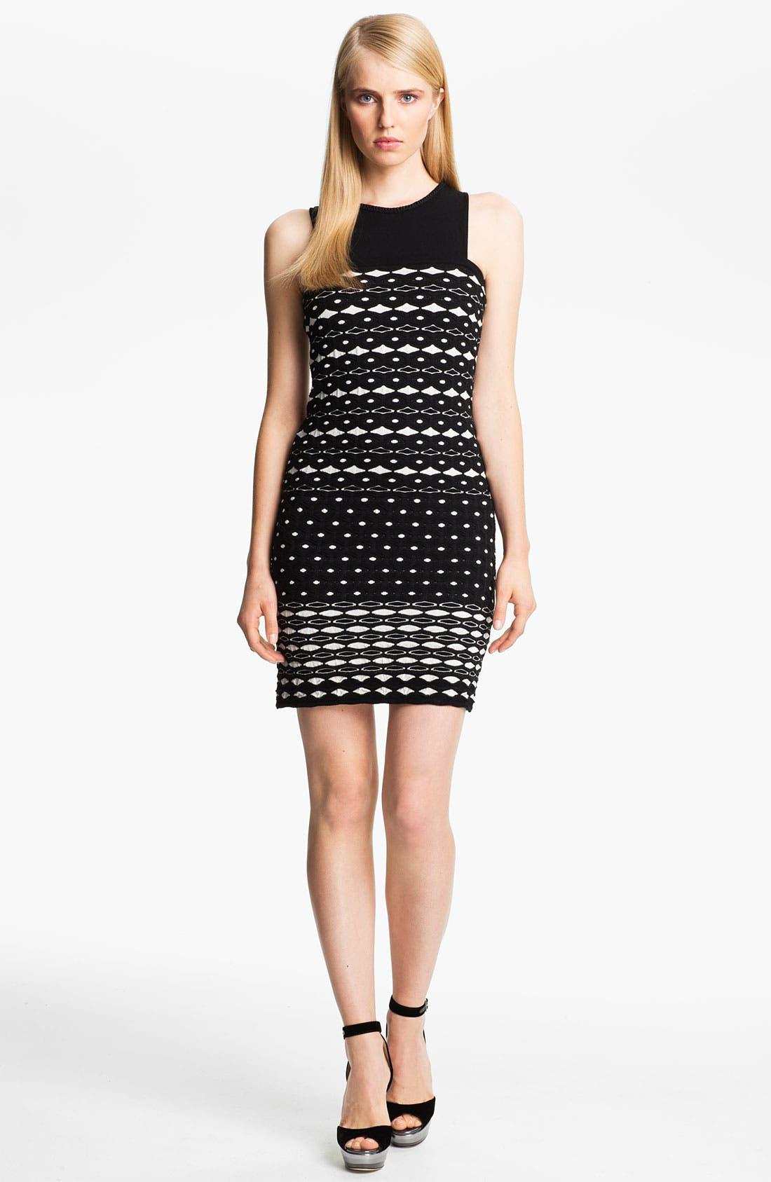 Alternate Image 1 Selected - M Missoni Diamond Knit Tank Dress