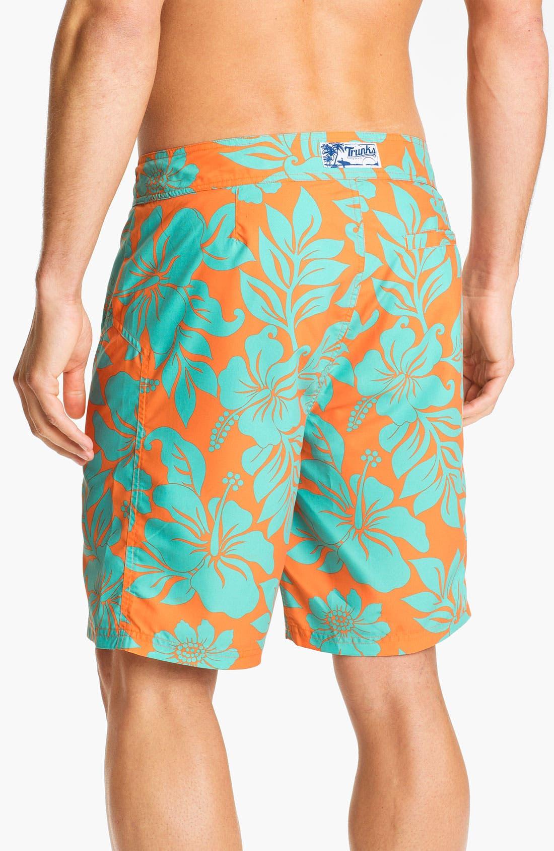 Alternate Image 2  - Trunks Surf & Swim 'Salty Boardie' Board Shorts