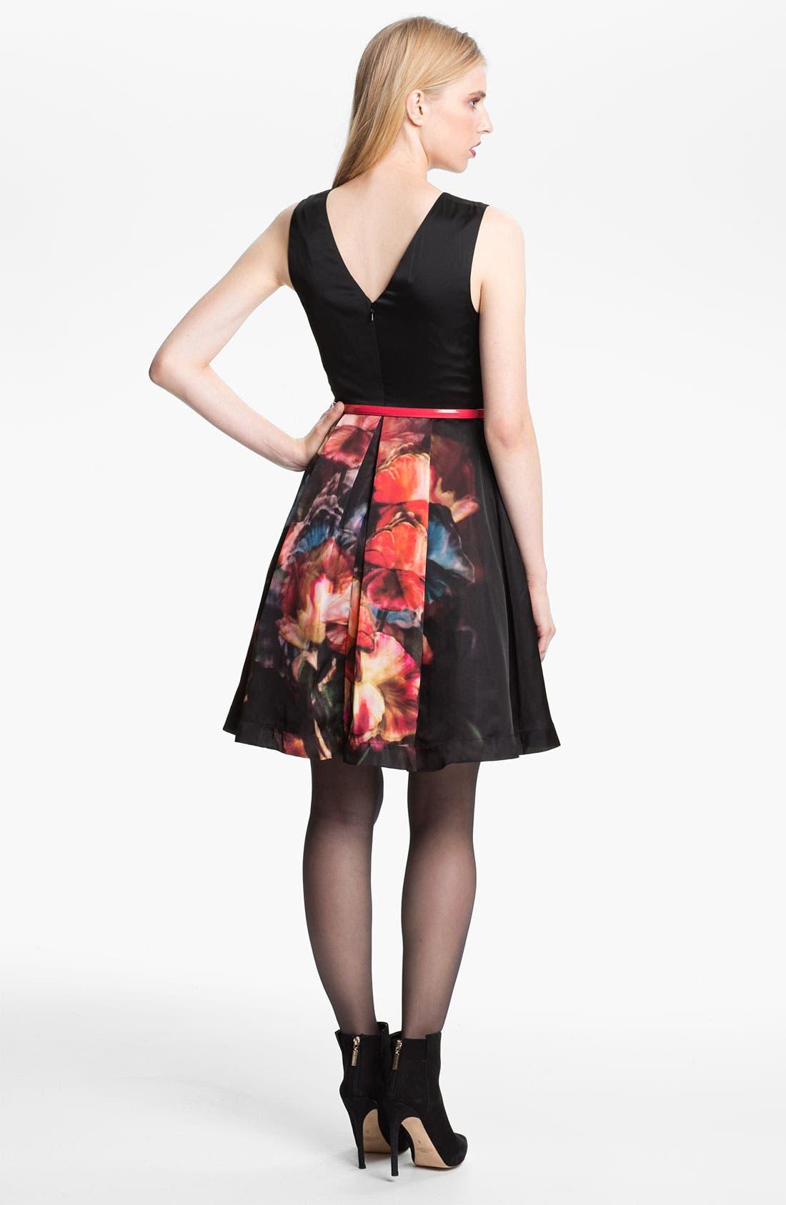 Alternate Image 2  - Ted Baker London 'Marinka' Belted Fit & Flare Dress