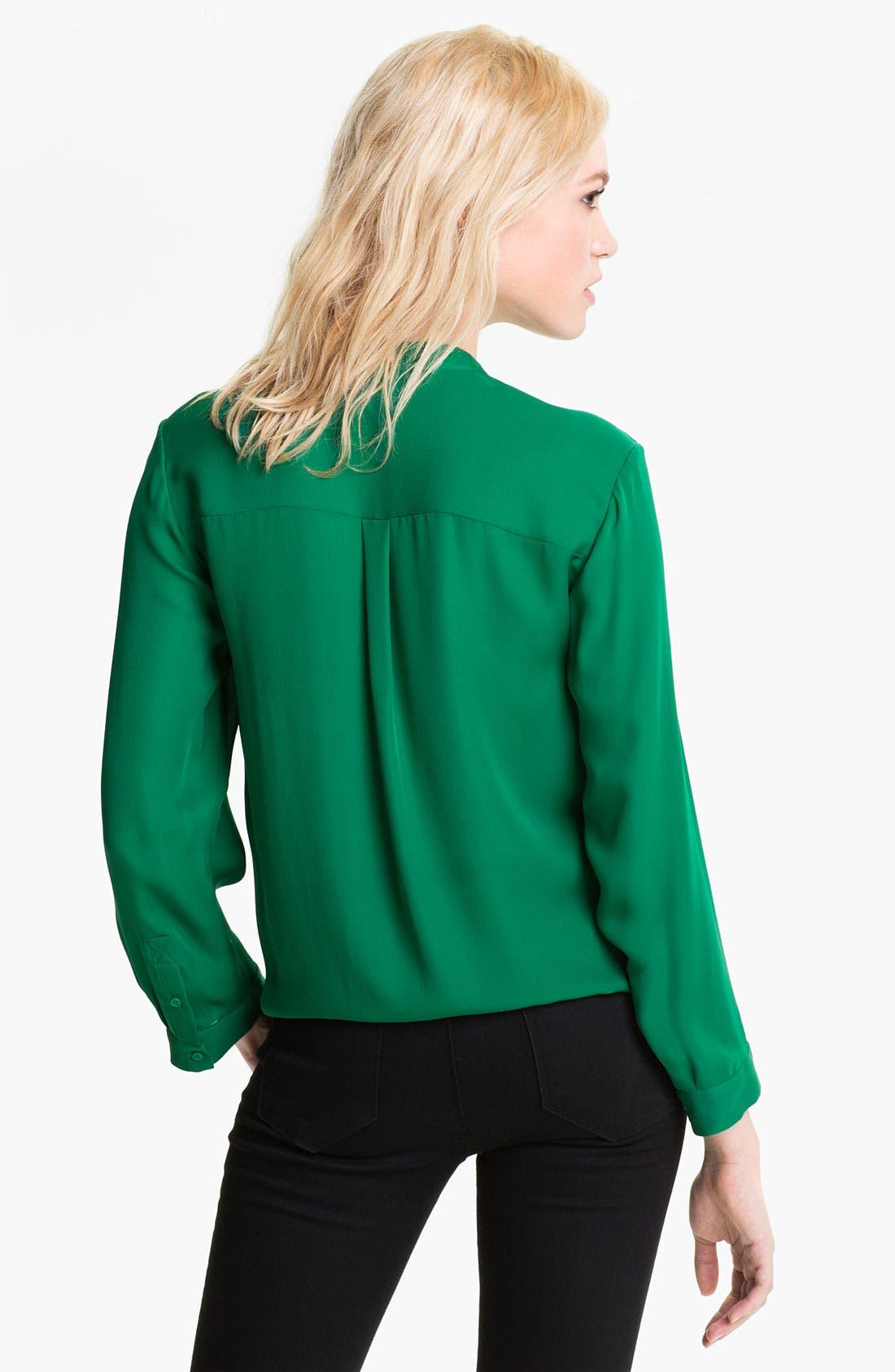 Alternate Image 2  - Joie 'Edaline' Silk Tie Front Shirt