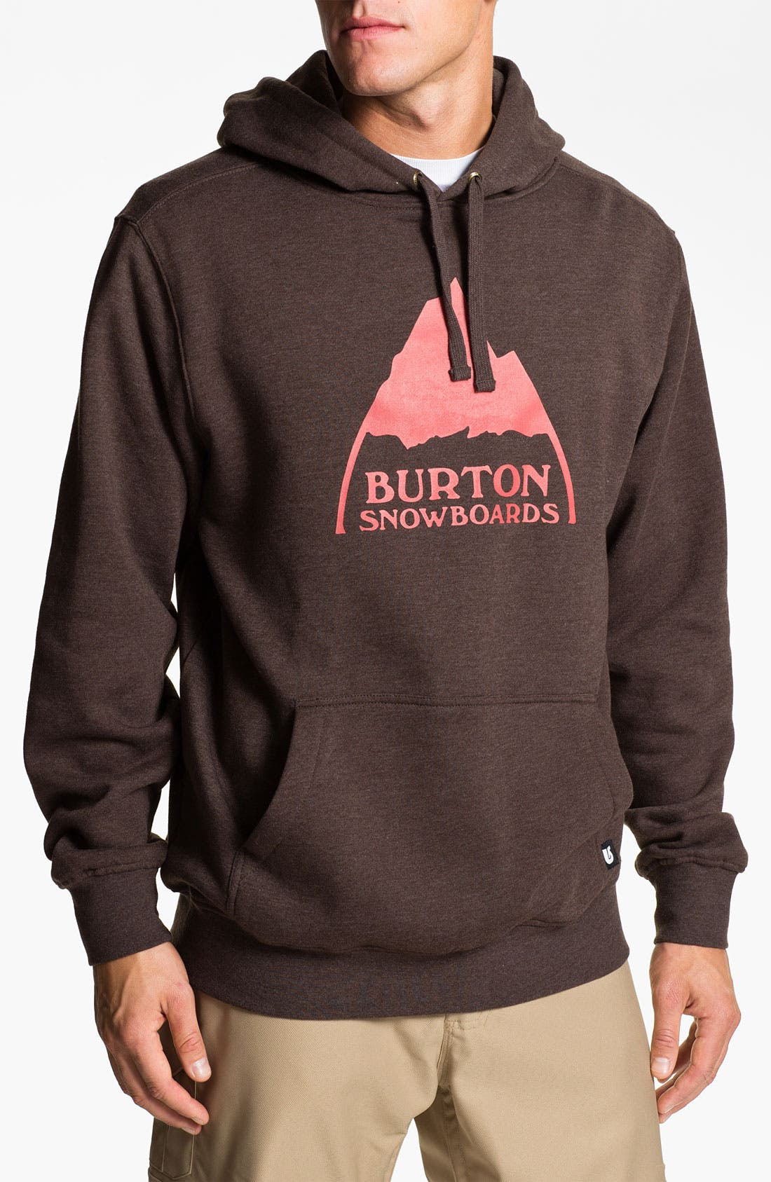 Alternate Image 1 Selected - Burton 'Mountain Logo' Hoodie