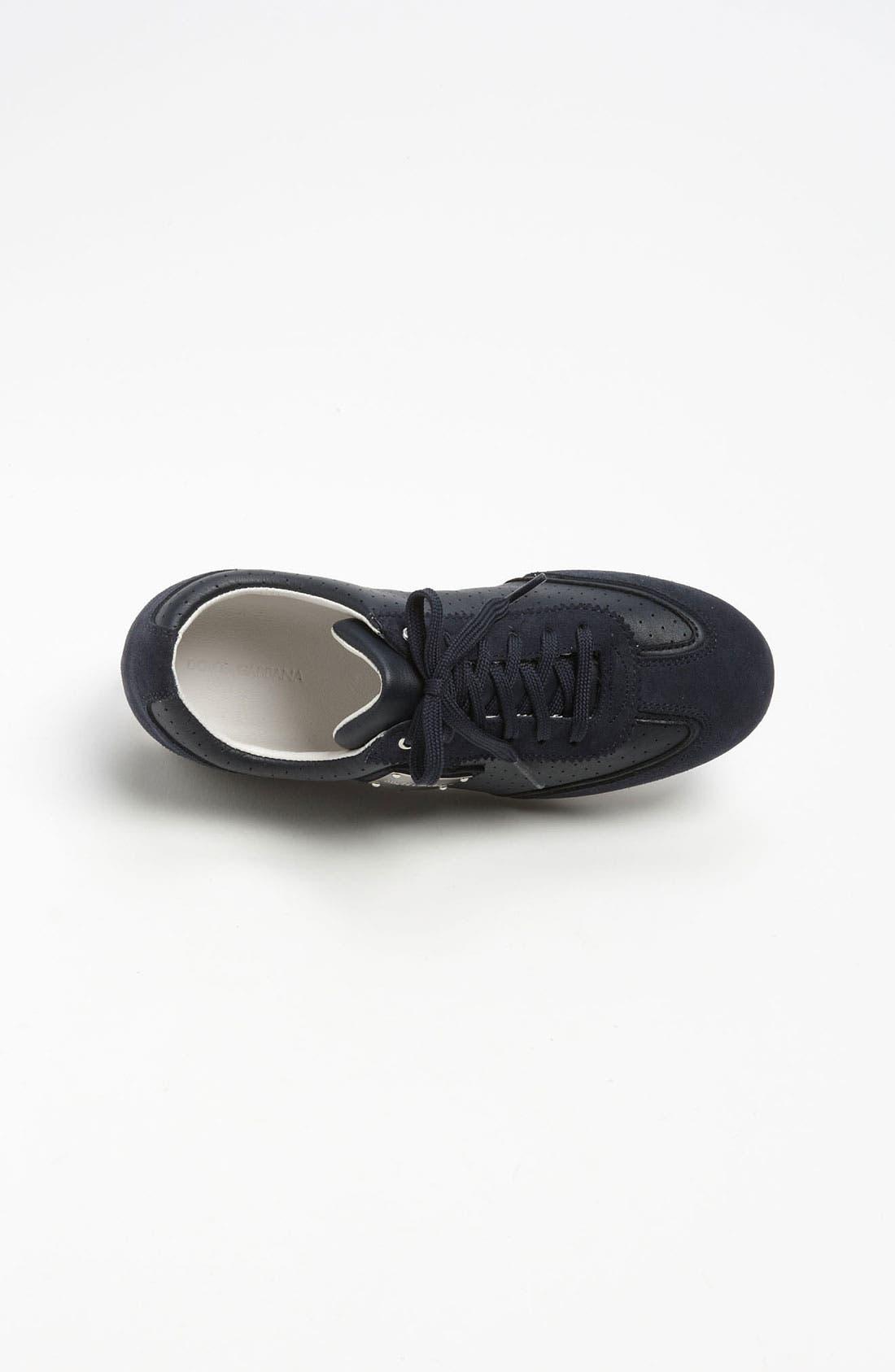 Alternate Image 3  - Dolce&Gabbana Lace-Up Sneaker (Toddler, Little Kid & Big Kid)