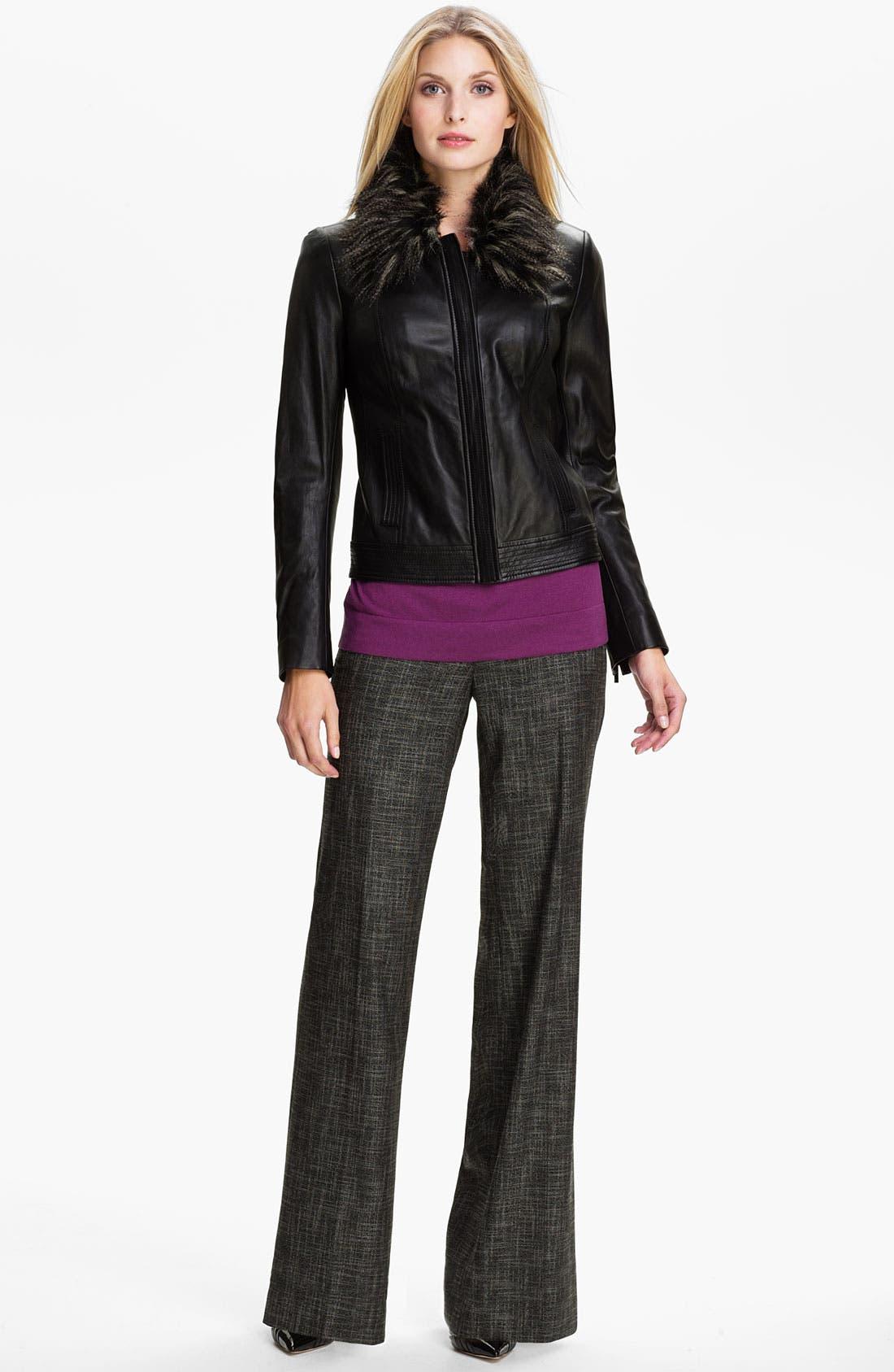 Alternate Image 4  - Classiques Entier® 'Mystero Weave' Pants