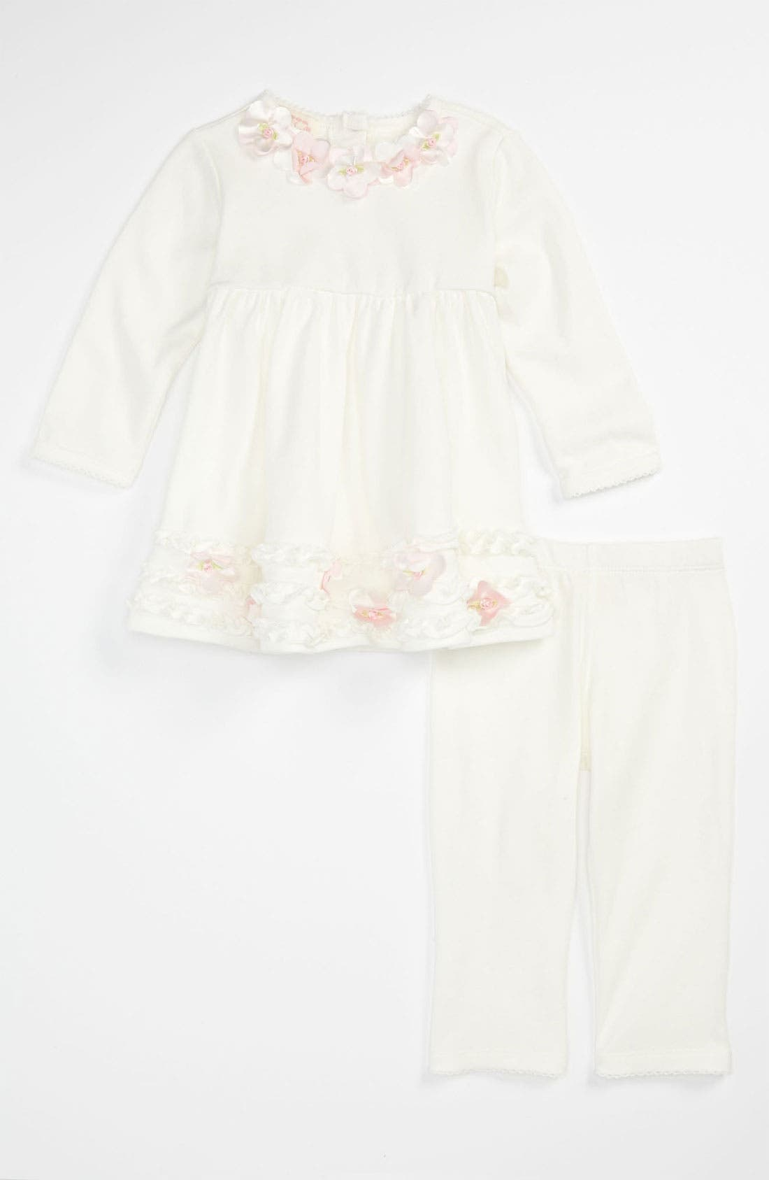 Alternate Image 1 Selected - Biscotti Dress & Leggings (Infant)