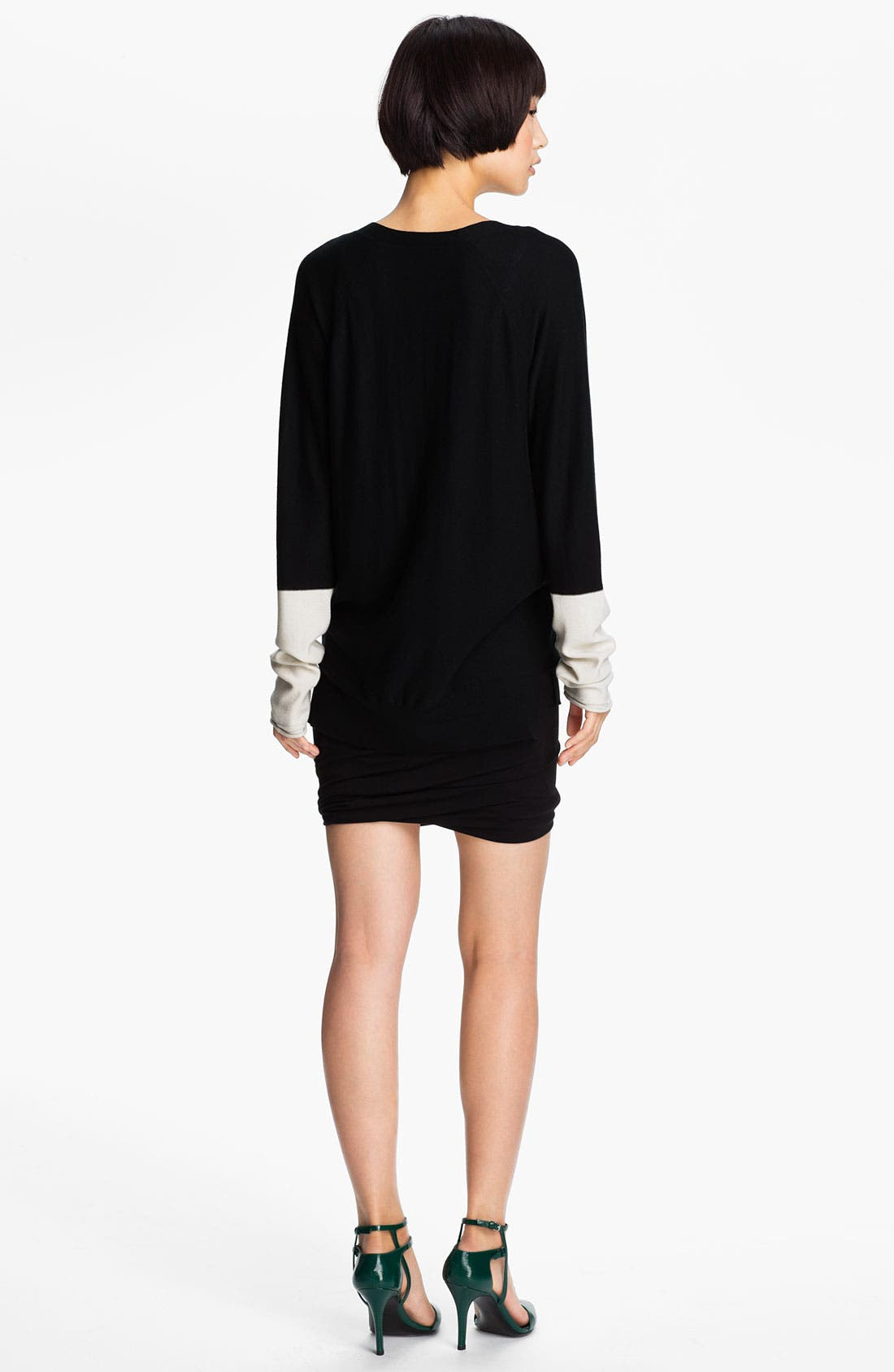 Alternate Image 2  - T by Alexander Wang Colorblock Cardigan