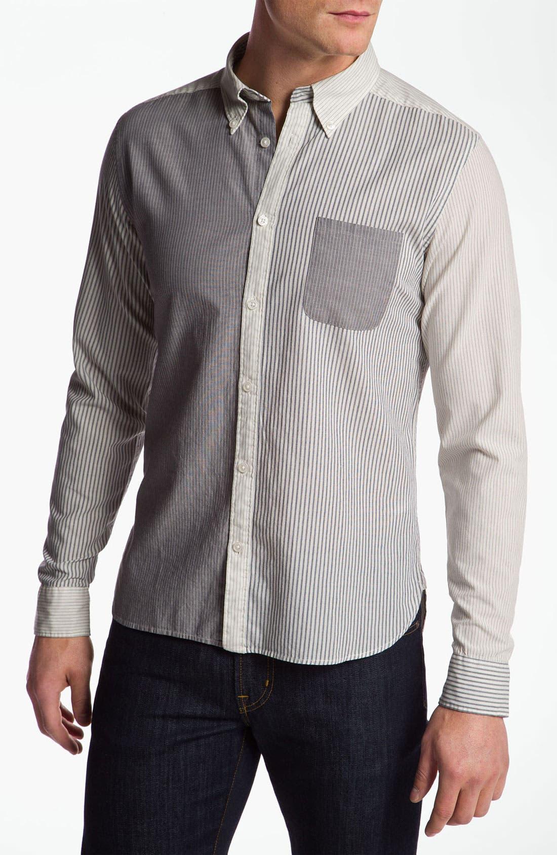 Alternate Image 1 Selected - Edun Woven Sport Shirt
