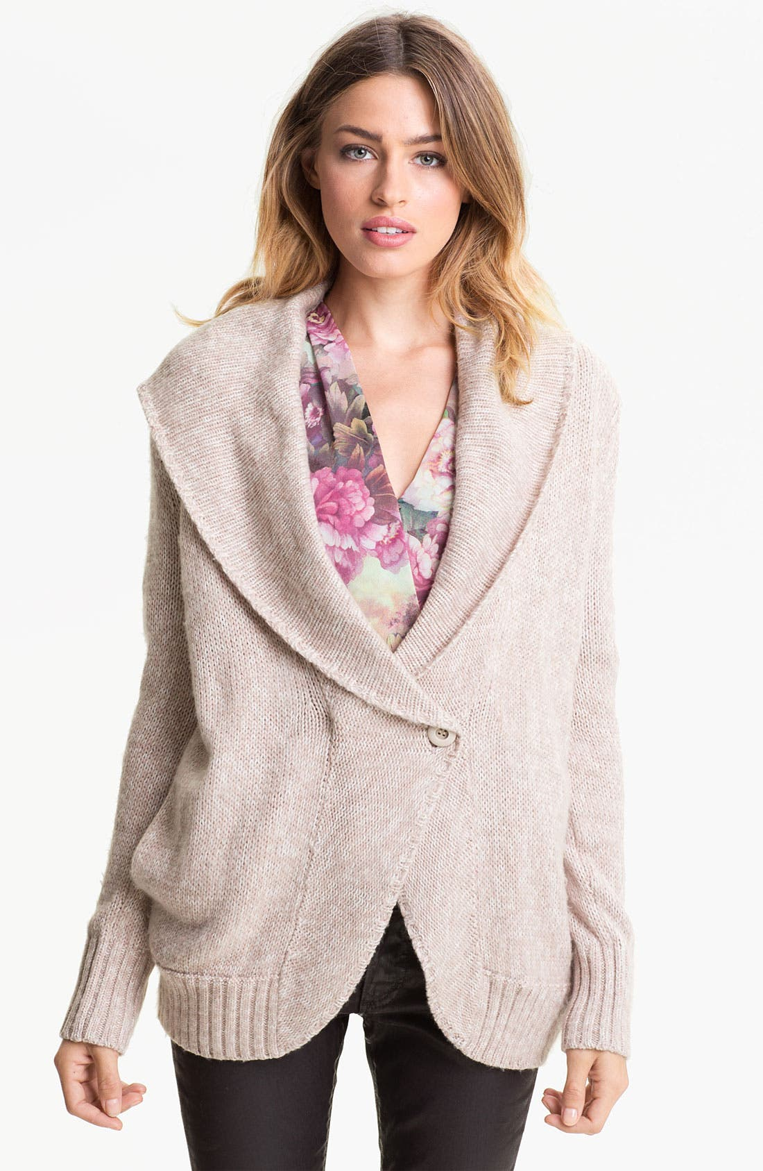 Alternate Image 1 Selected - Hinge® Shawl Collar Cardigan