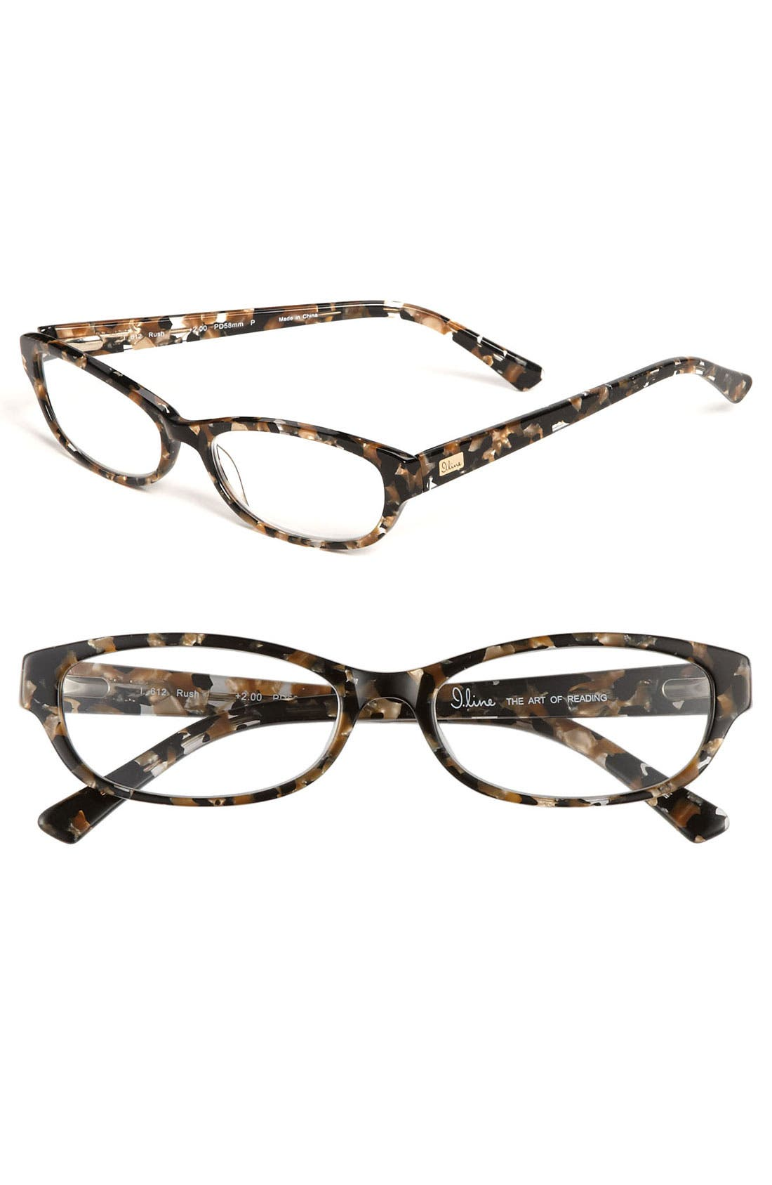 Alternate Image 1 Selected - I Line Eyewear Reading Glasses