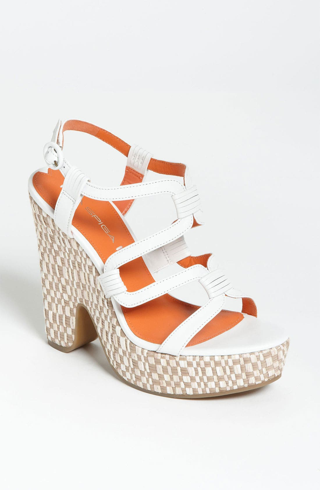 Alternate Image 1 Selected - Via Spiga 'Cai' Wedge Sandal