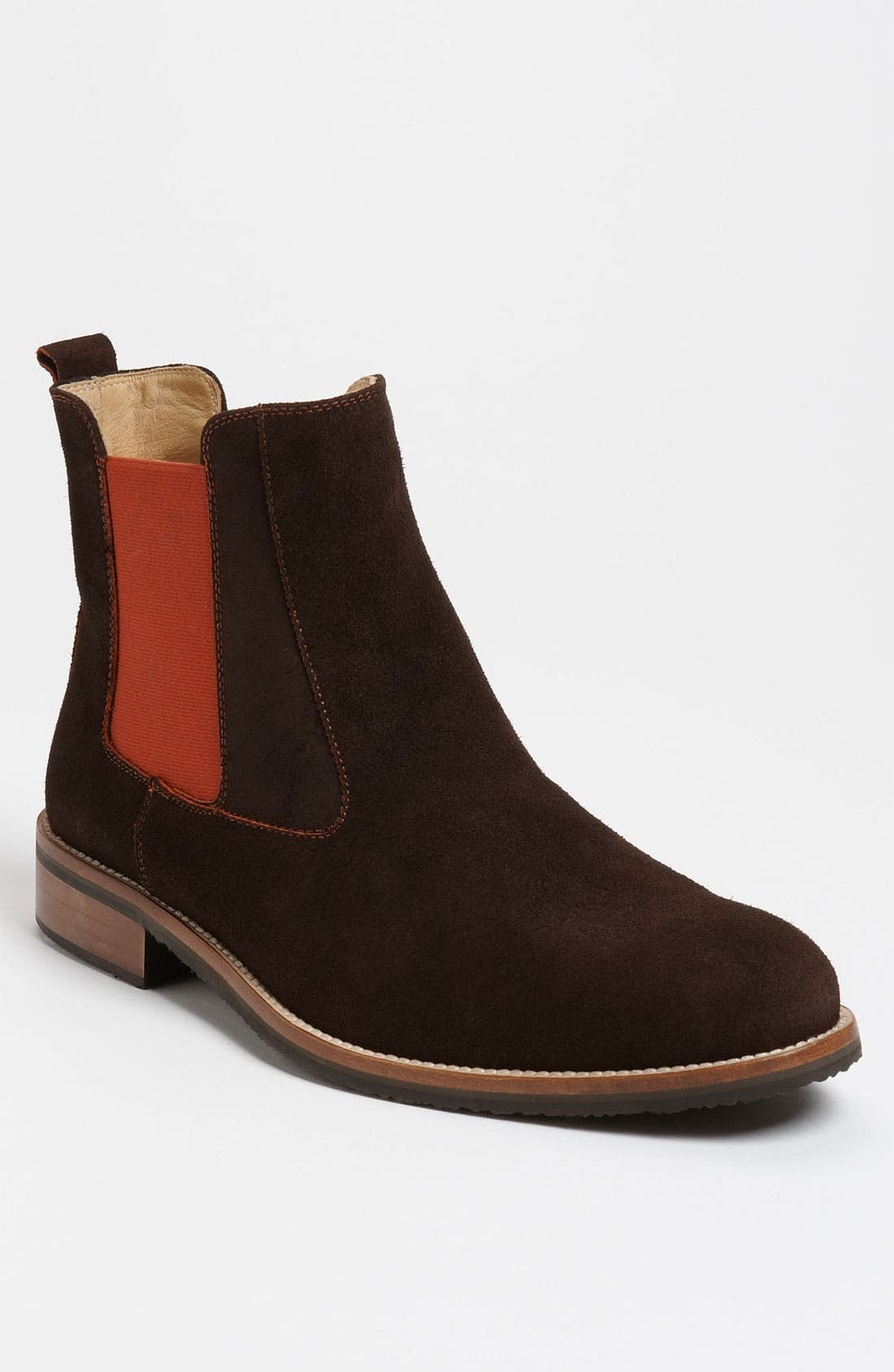 Main Image - Thomas Dean Suede Chelsea Boot