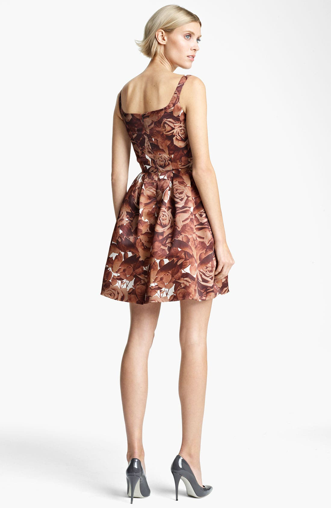 Alternate Image 2  - Christopher Kane Sleeveless Floral Print Dress