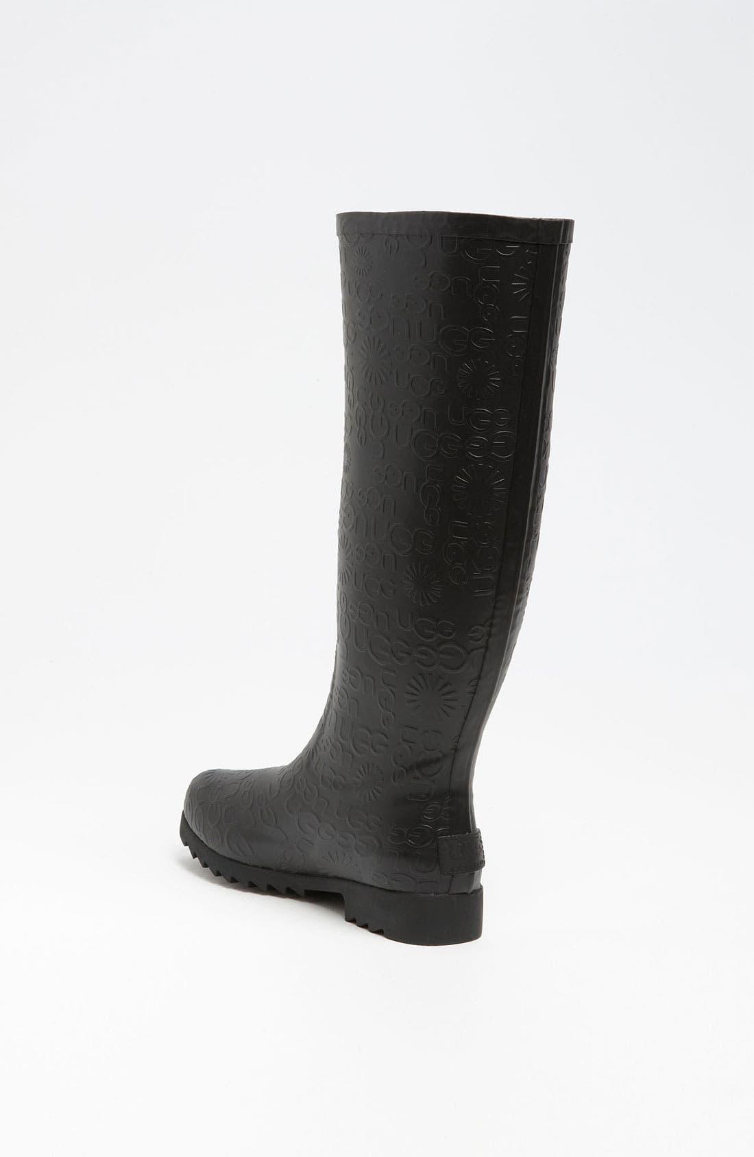 Alternate Image 2  - UGG® Australia 'Wilshire Logo' Tall Boot (Women)