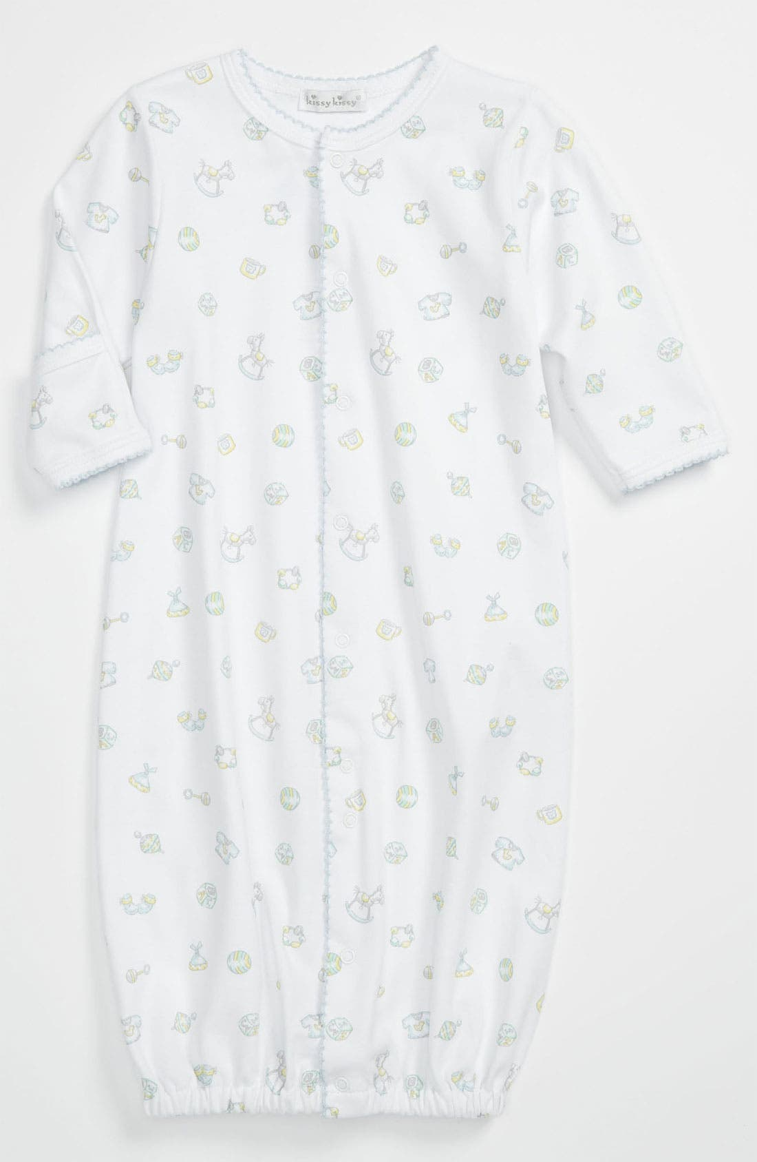 Alternate Image 1 Selected - Kissy Kissy Convertible Gown (Infant)