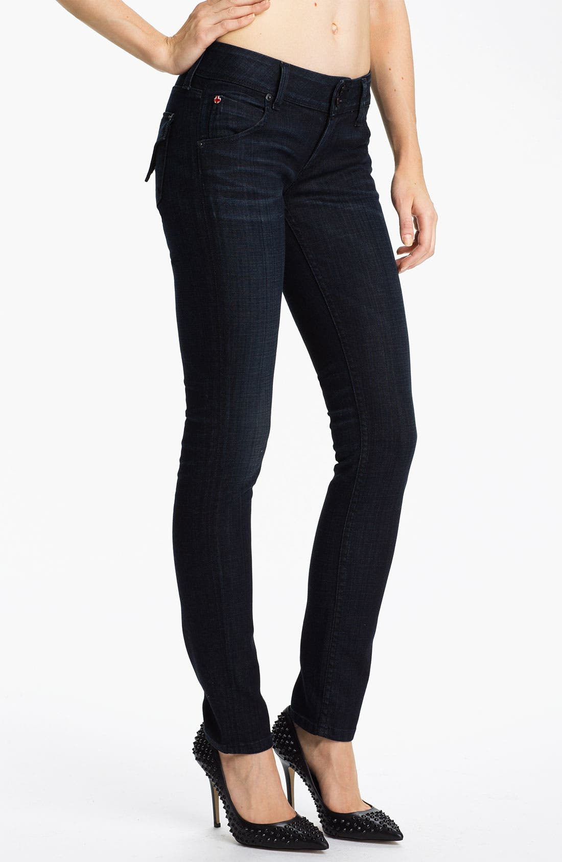 Alternate Image 1 Selected - Hudson Jeans Skinny Stretch Jeans (Cale)