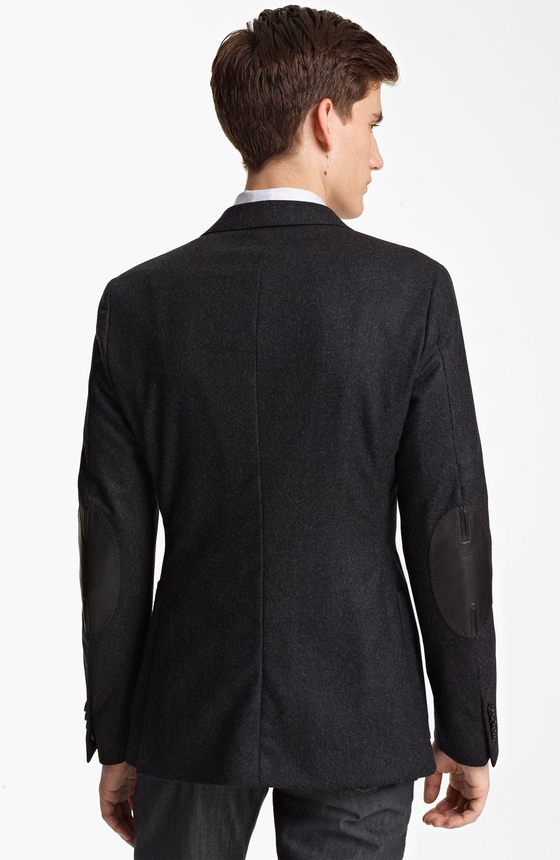 Alternate Image 2  - Z Zegna 'Compact' Trim Fit Wool Blazer
