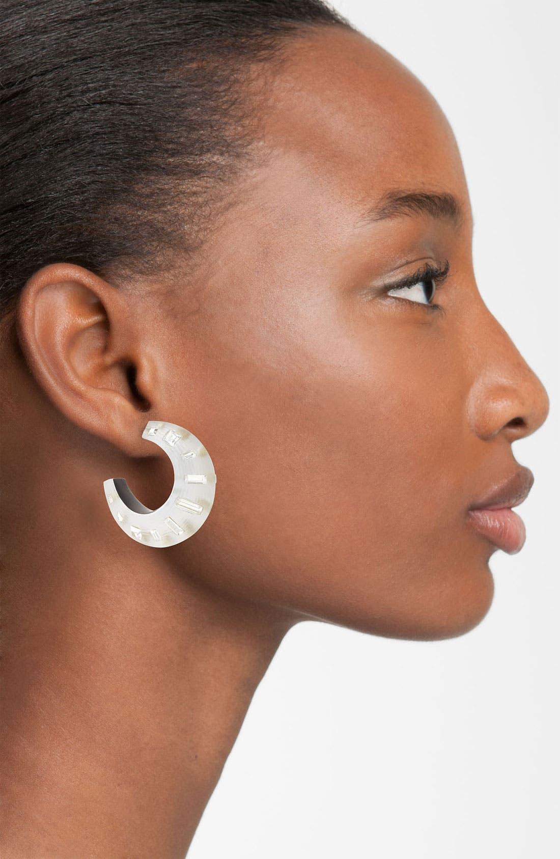 Alternate Image 2  - Alexis Bittar 'Teatro Moderne - Radiant Dust' Hoop Earrings