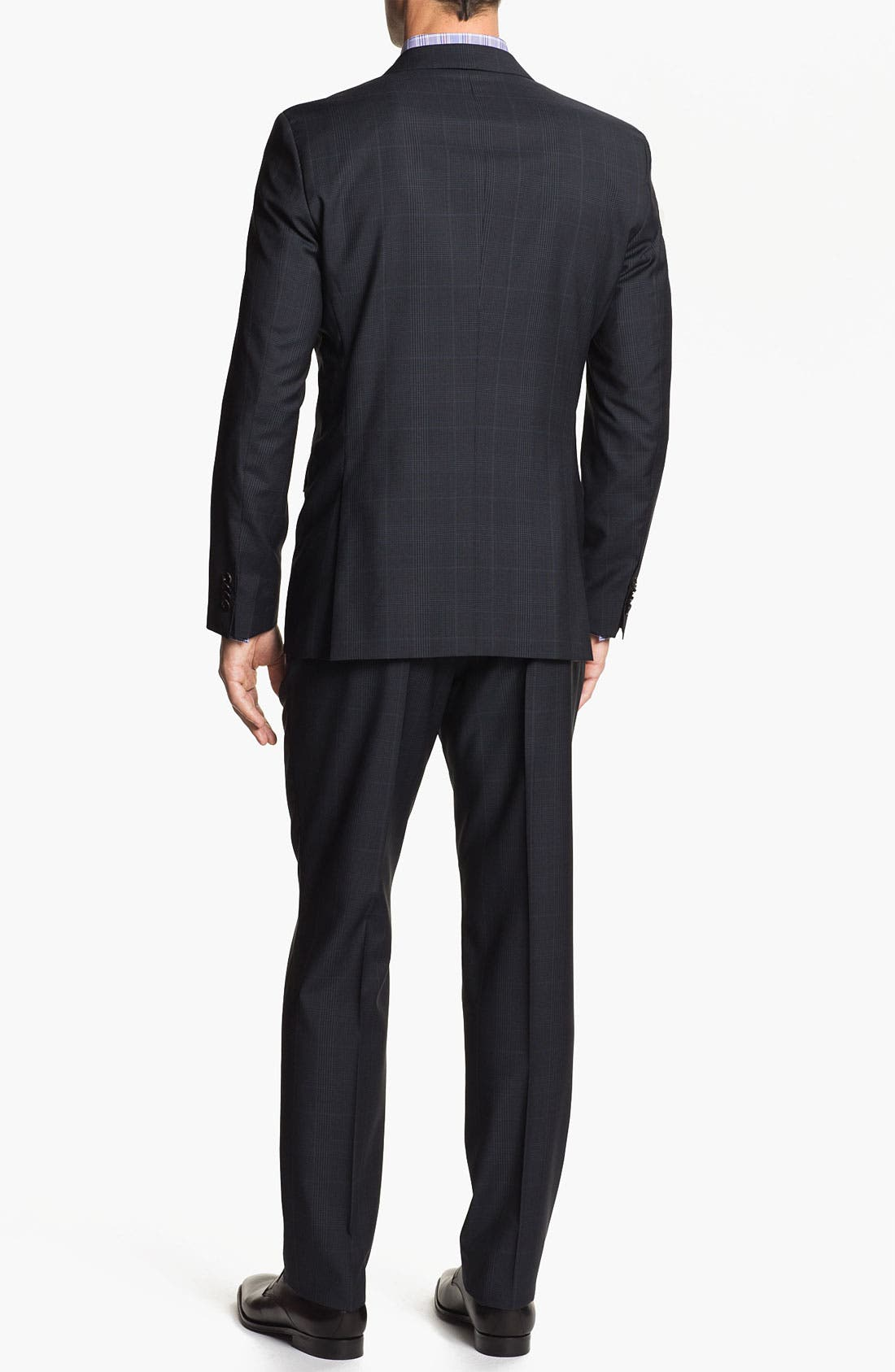 Alternate Image 3  - BOSS Black 'Jam/Sharp' Trim Fit Plaid Suit