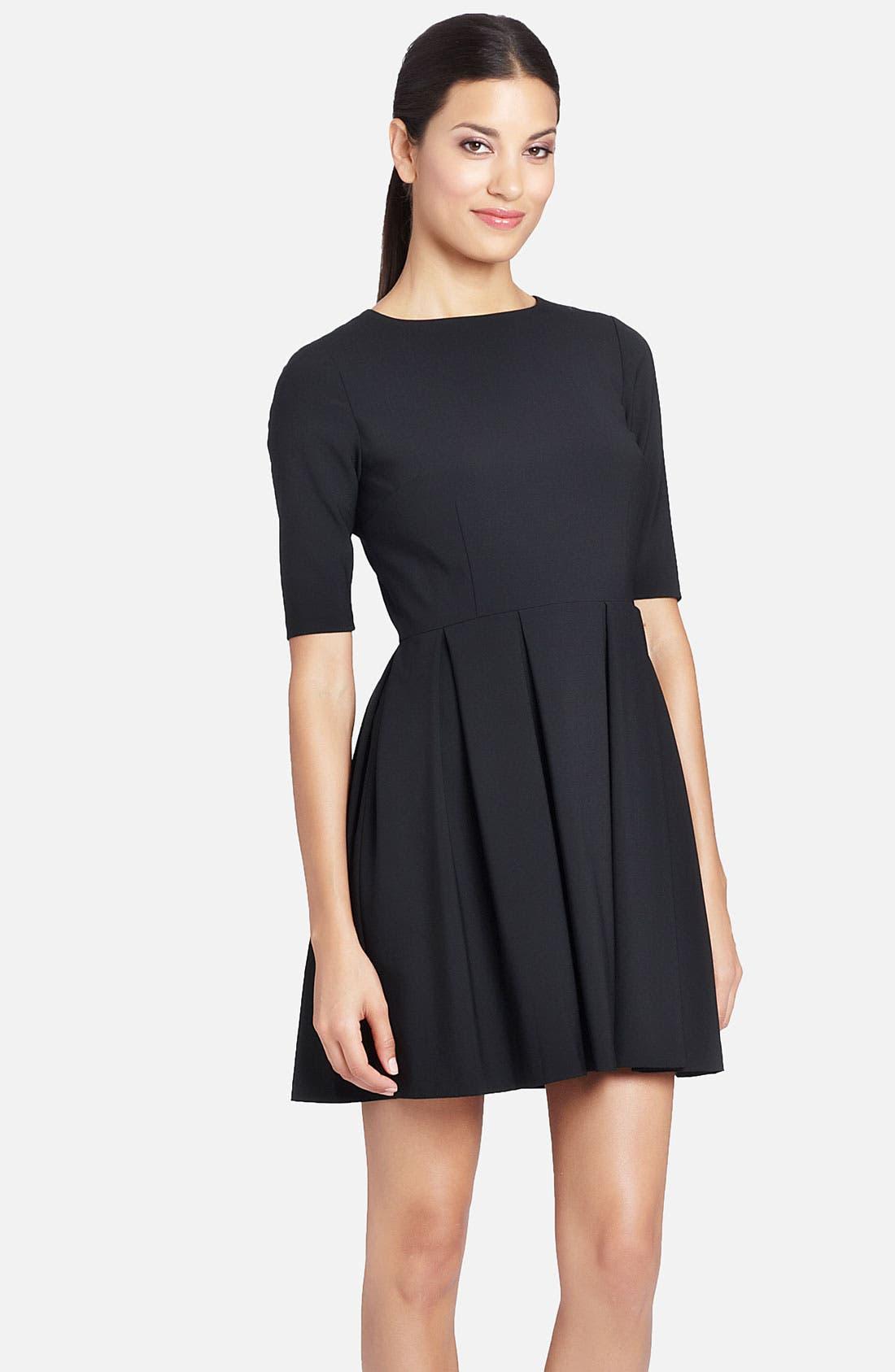 Alternate Image 1 Selected - Cynthia Steffe 'Marietta' Pleated Skirt Fit & Flare Dress