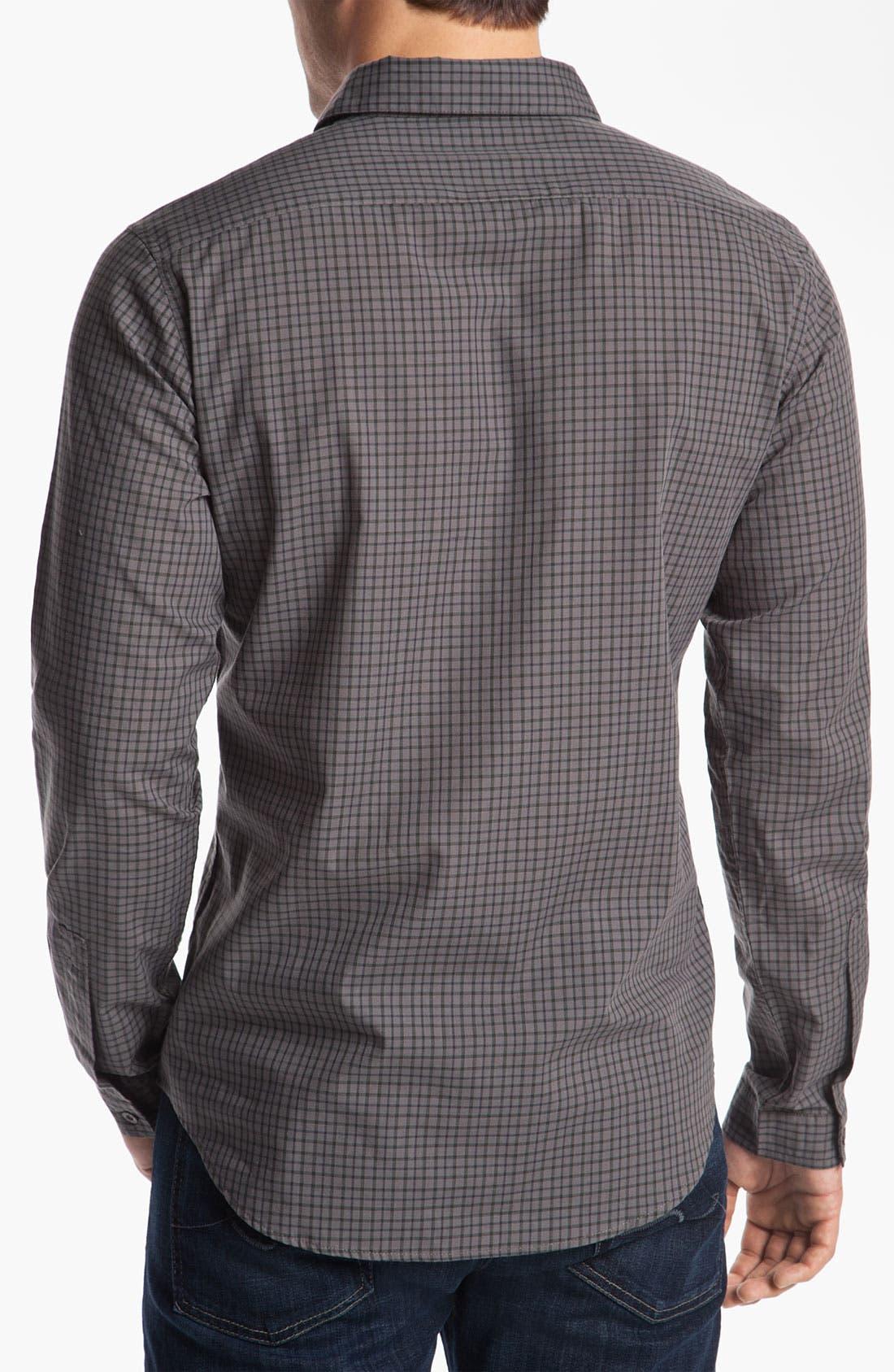 Alternate Image 2  - RVCA 'Borealis' Check Woven Shirt