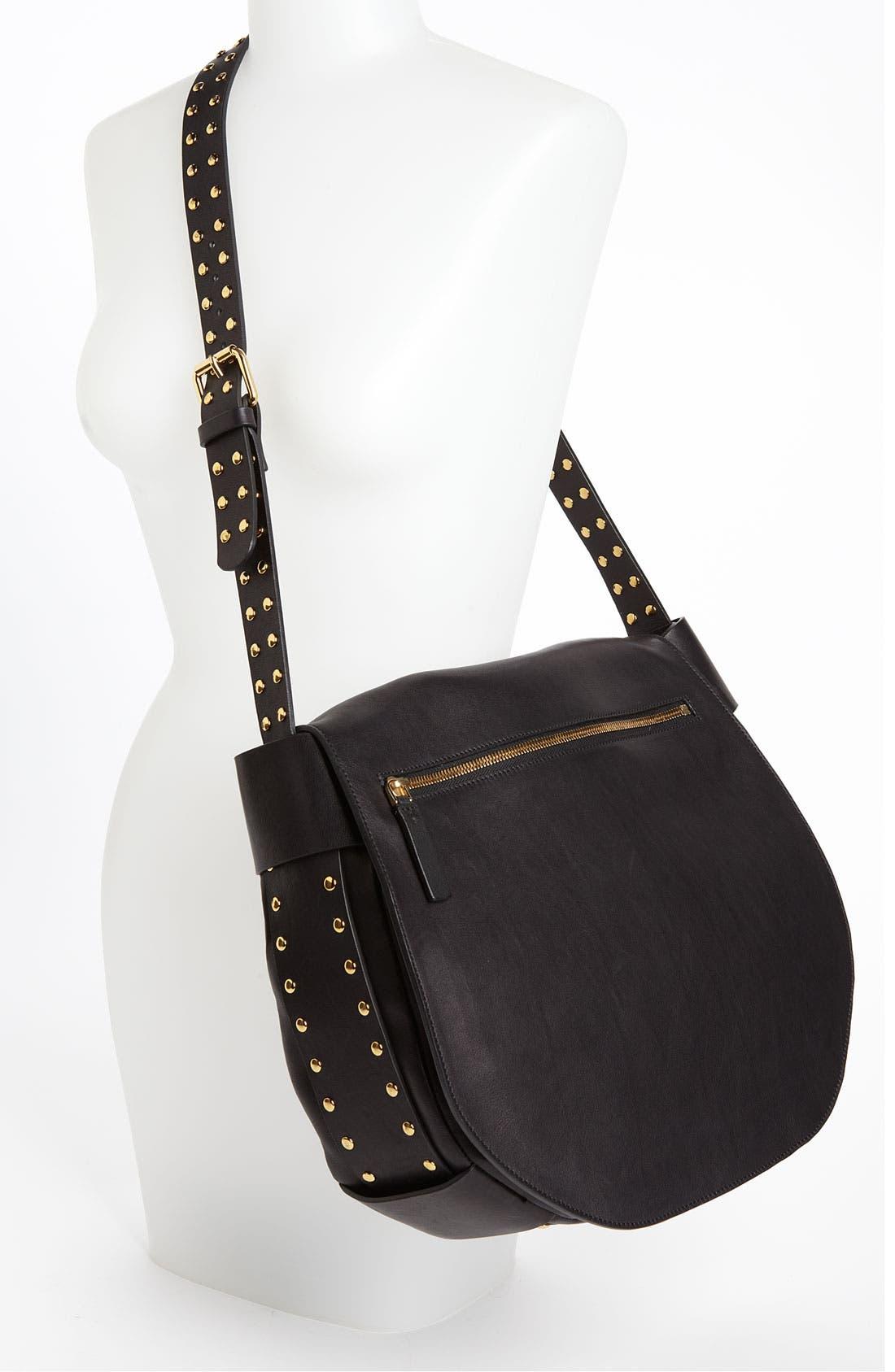 Alternate Image 2  - Marni 'Large' Studded Crossbody Flap Bag