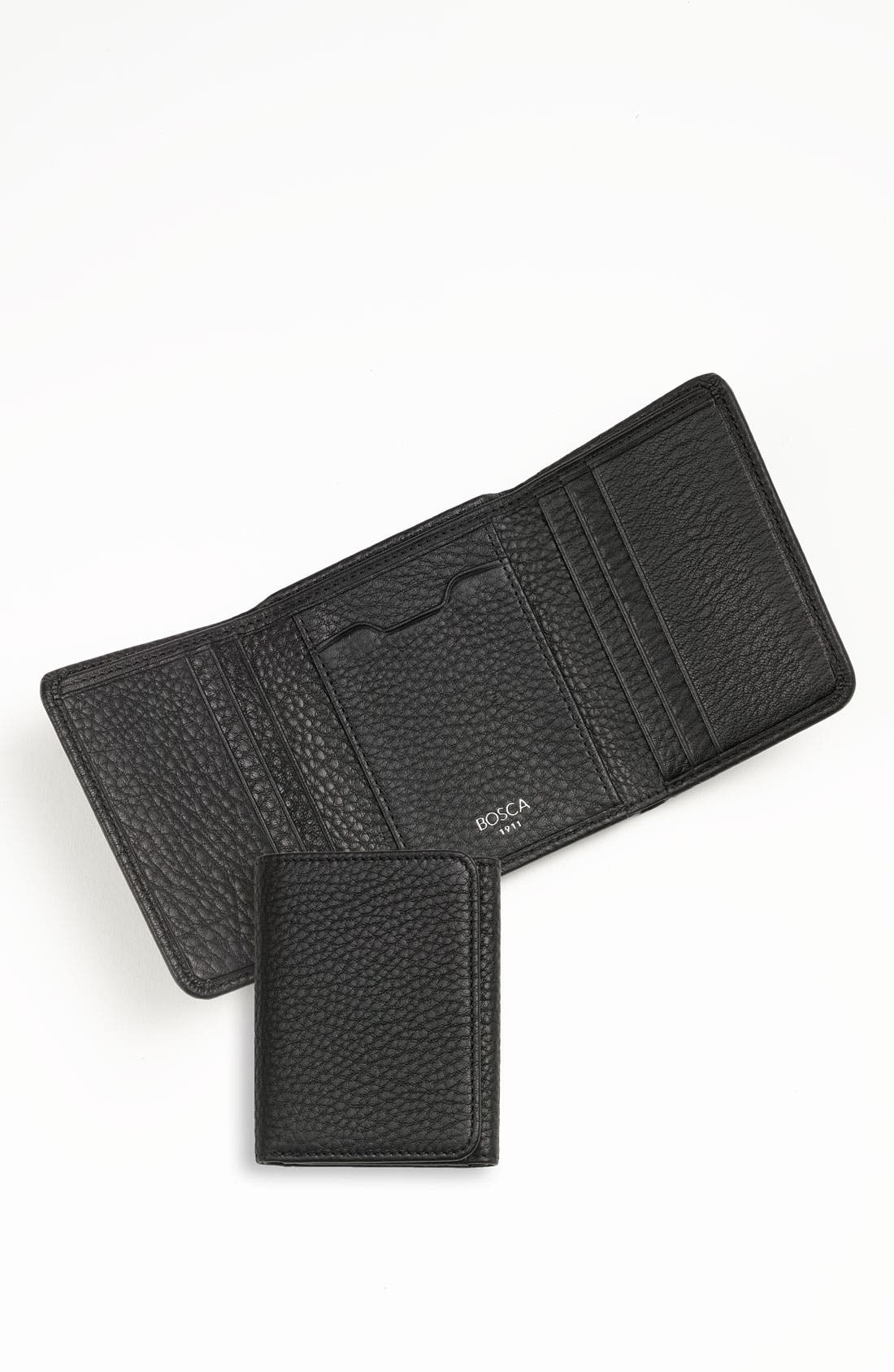 Alternate Image 1 Selected - Bosca 'Tribeca' Trifold Wallet
