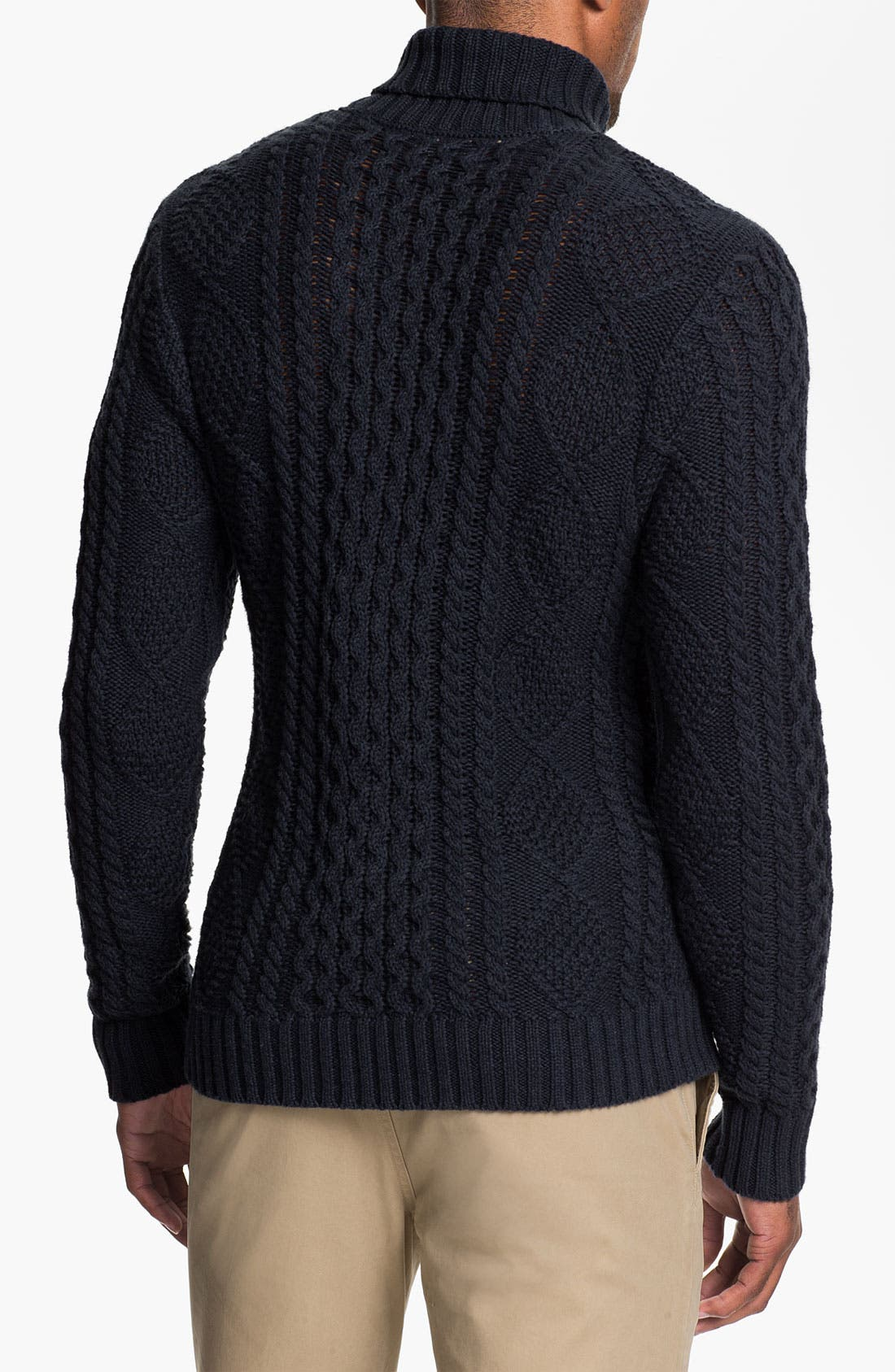 Alternate Image 2  - Wallin & Bros. 'Norwood' Cable Knit Sweater