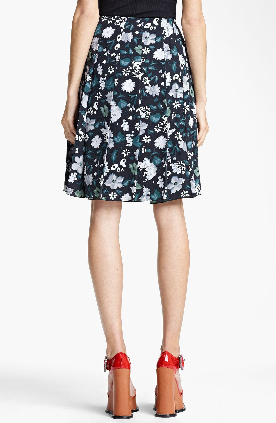 Alternate Image 2  - MARC JACOBS Print Crêpe de Chine Skirt