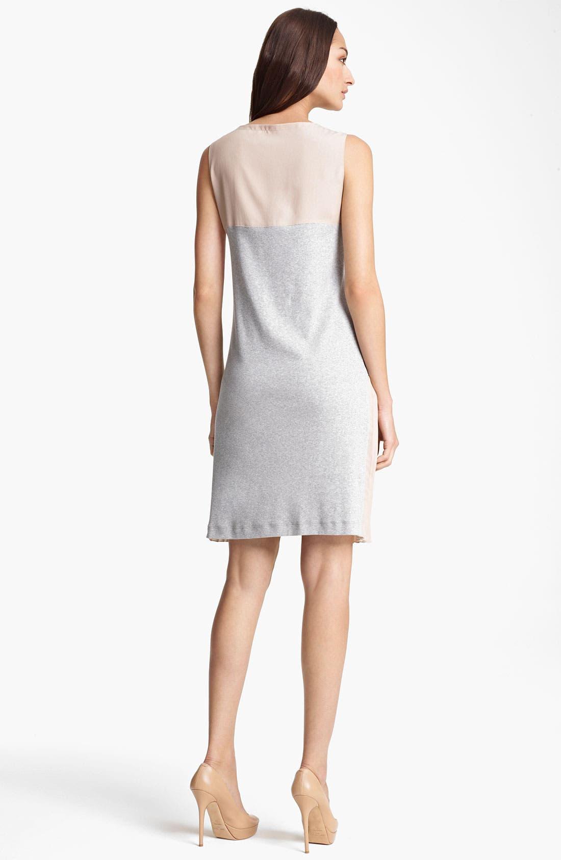 Alternate Image 2  - Fabiana Filippi Crepe & Rib Knit Dress