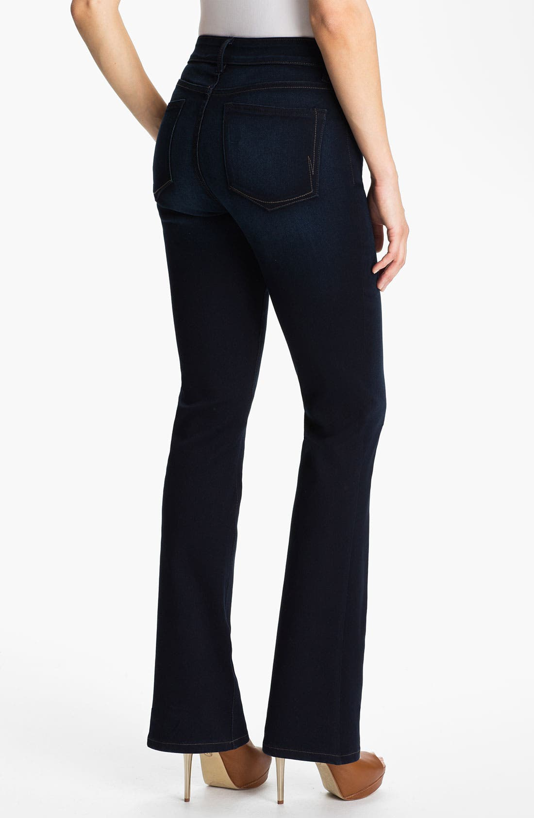 Alternate Image 2  - NYDJ 'Barbara' Bootcut Jeans (Long)