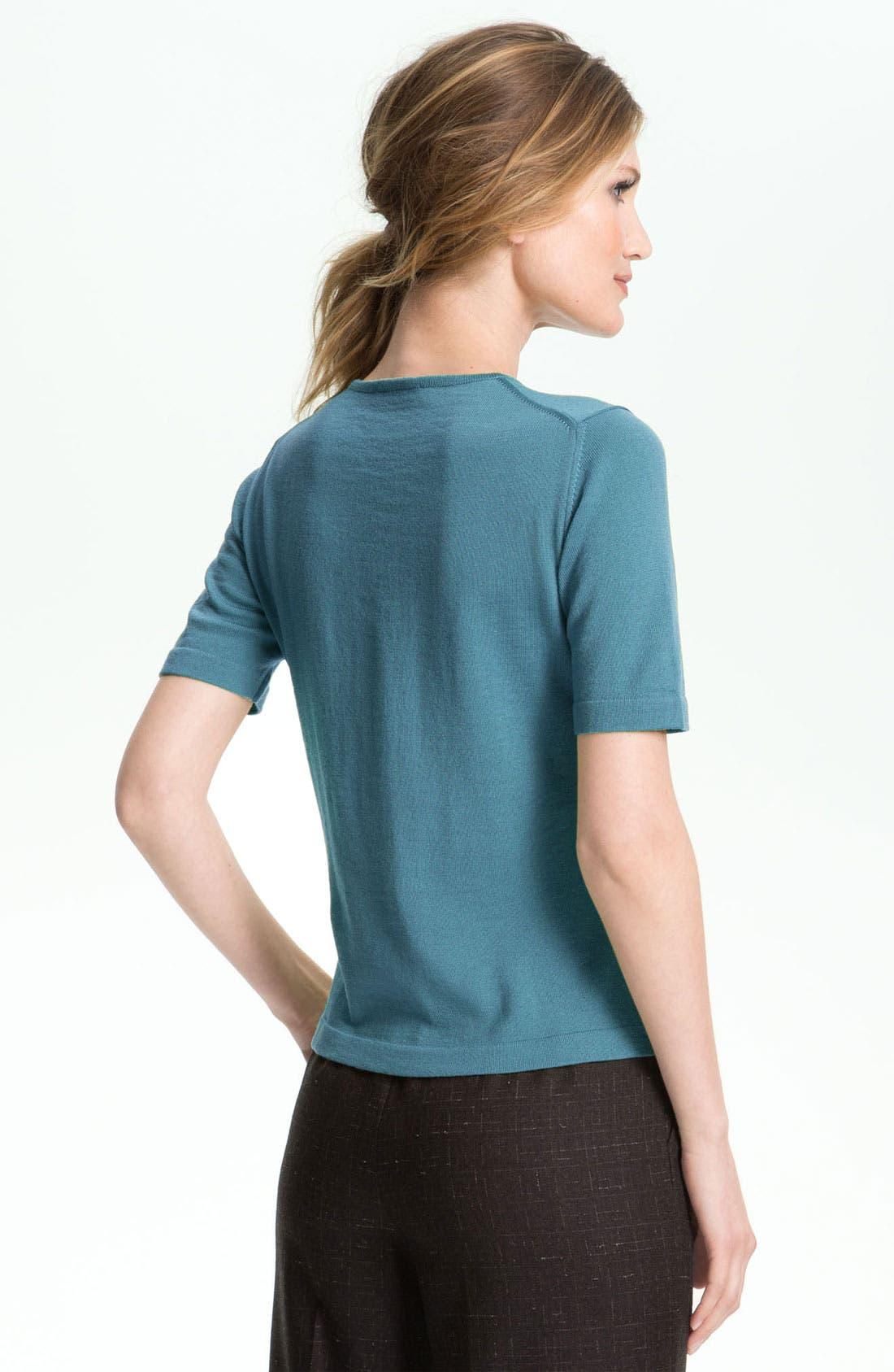 Alternate Image 2  - Zanella Crewneck Sweater