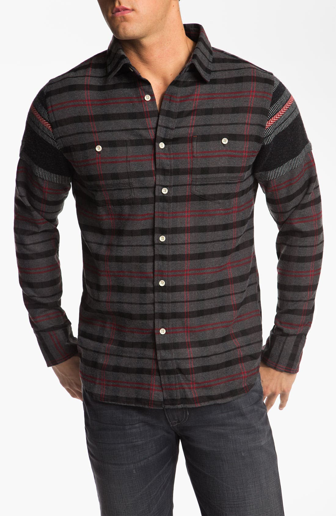 Alternate Image 1 Selected - Howe 'Iron and Resin' Woven Shirt