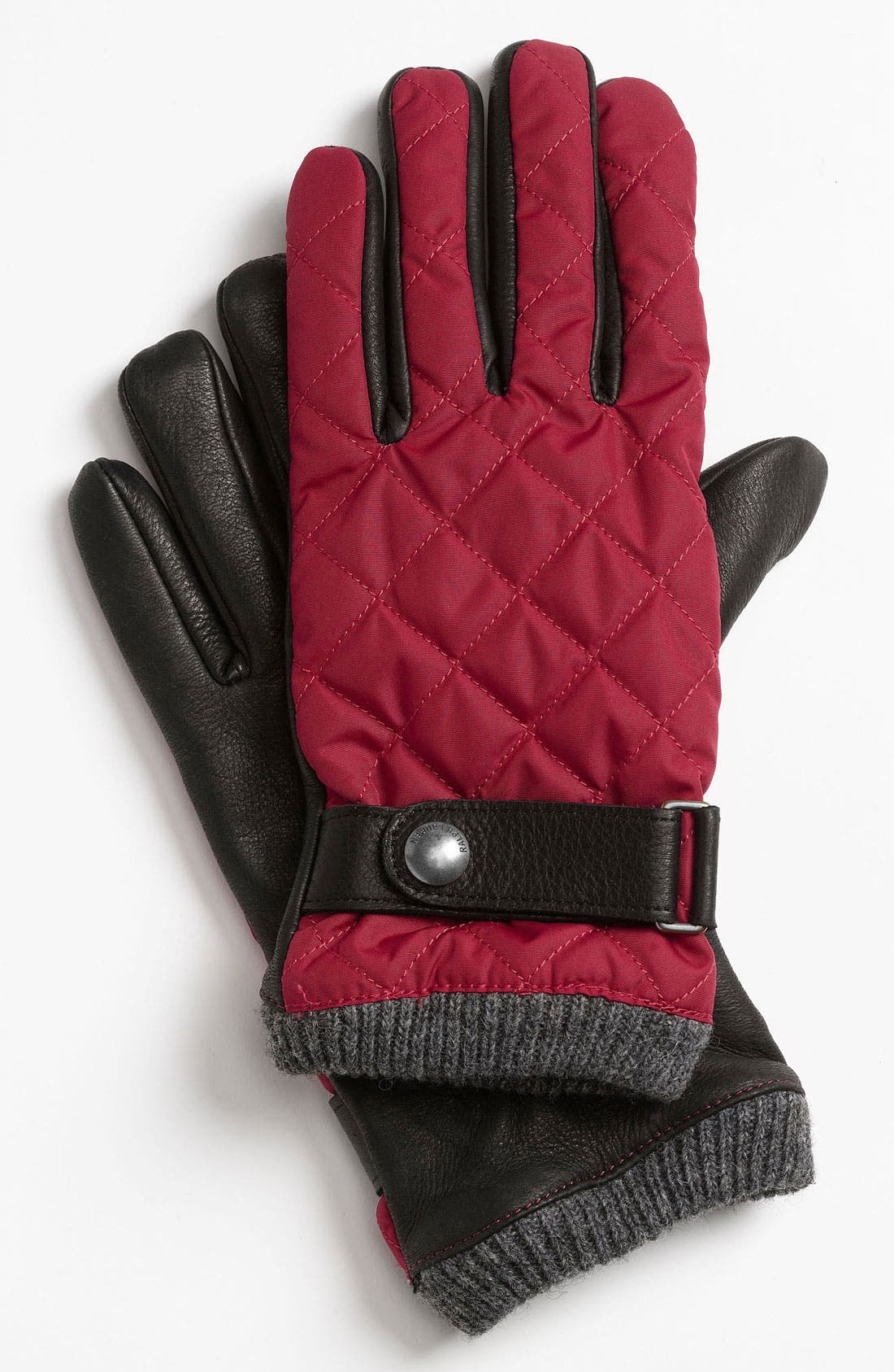 Alternate Image 1 Selected - Polo Ralph Lauren Quilted Gloves