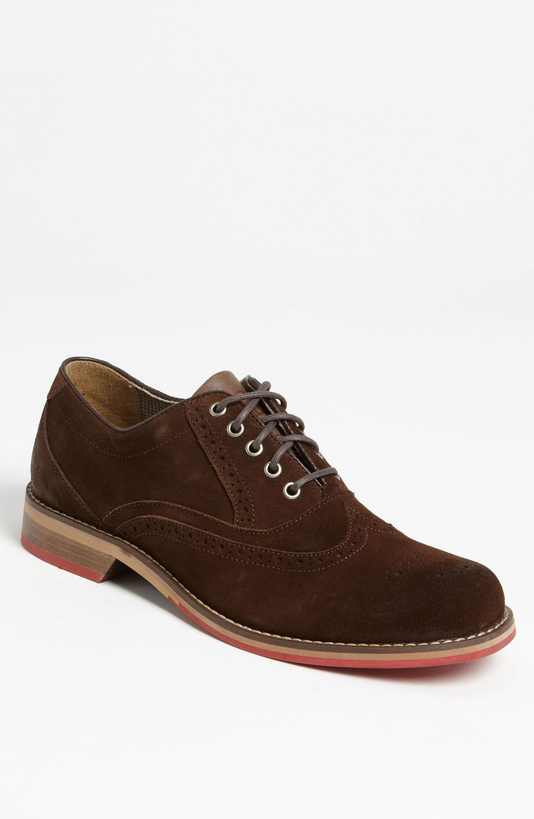 Main Image - WOLVERINE DEX RED SOLE OXFORD