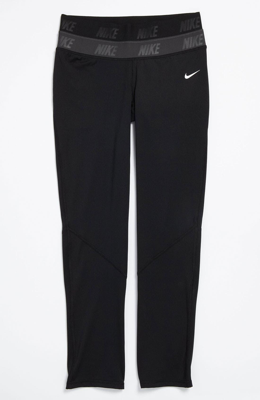 Main Image - Nike Pro 'Hyperwarm' Compression Tights (Big Girls)