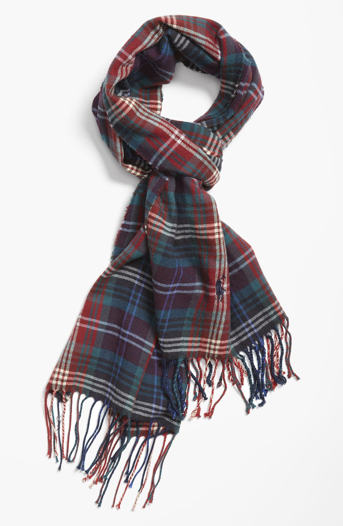 Alternate Image 1 Selected - Polo Ralph Lauren Plaid Cotton Scarf