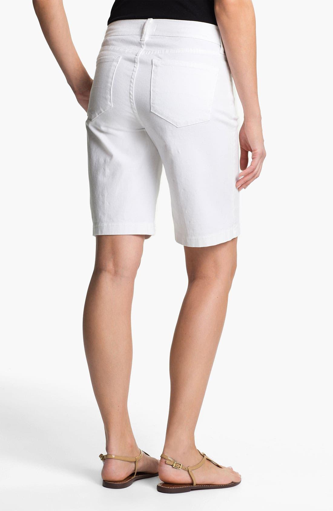 Alternate Image 2  - NYDJ 'Helen' Stretch Denim Shorts