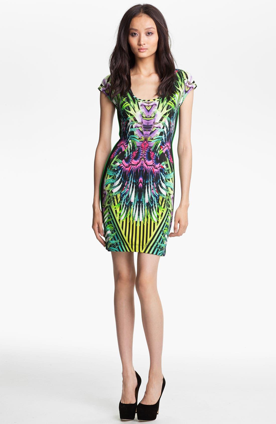 Alternate Image 1 Selected - Just Cavalli 'Jungle' Jersey Dress