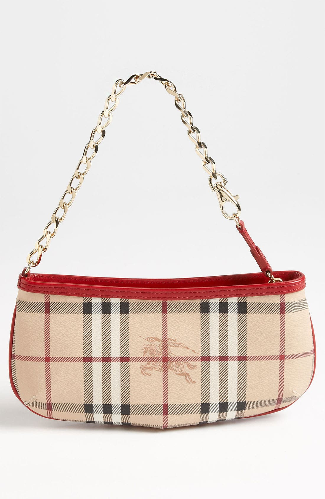 Alternate Image 4  - Burberry 'Haymarket Color' Pouch