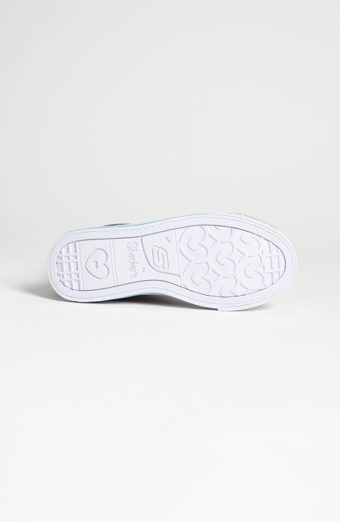 Alternate Image 4  - SKECHERS 'Twinkle Toes - Shuffles Lucky Kisses' Sneaker (Toddler, Little Kid & Big Kid)