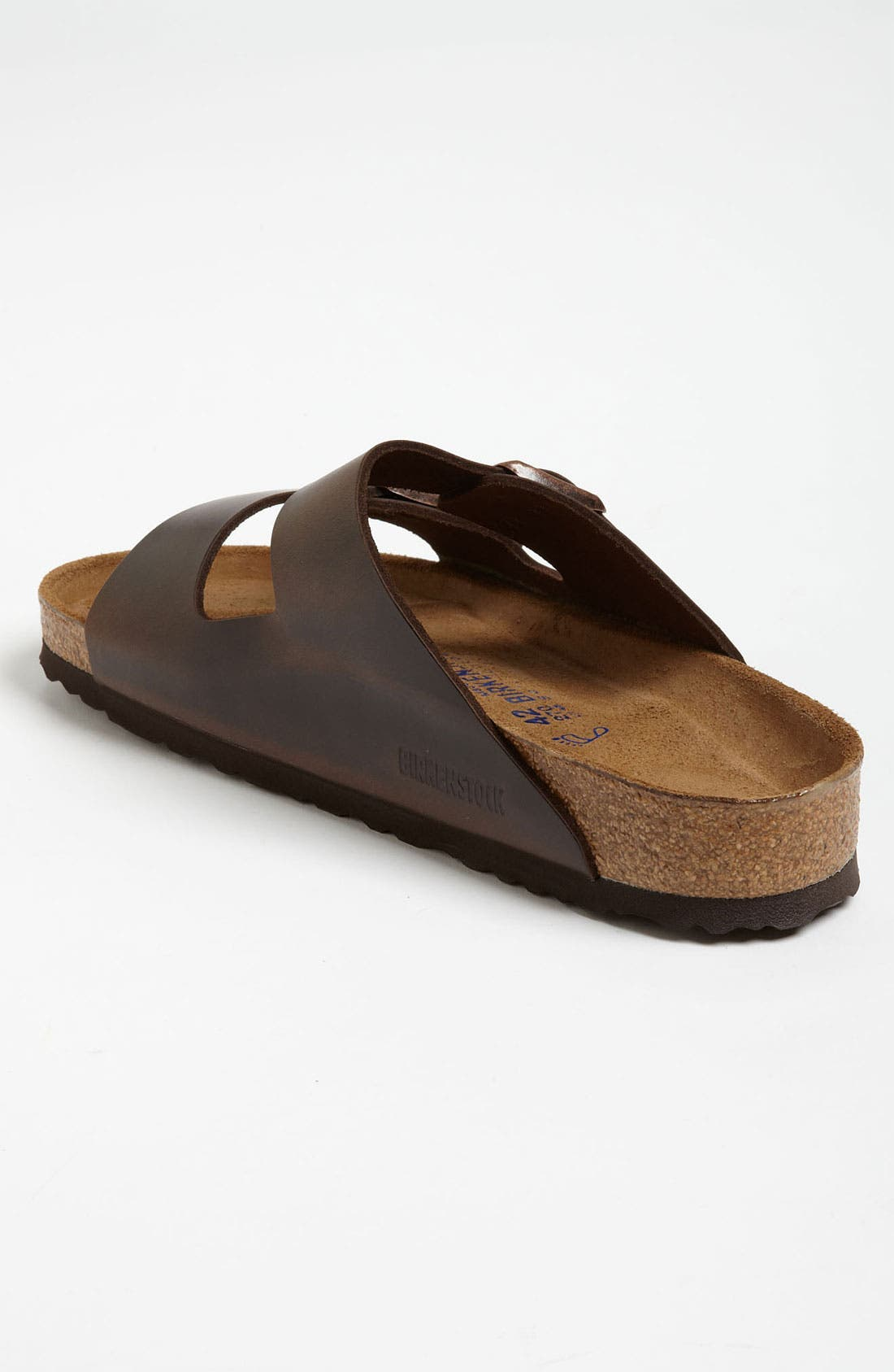 'Arizona Soft' Sandal,                             Alternate thumbnail 2, color,                             Brown